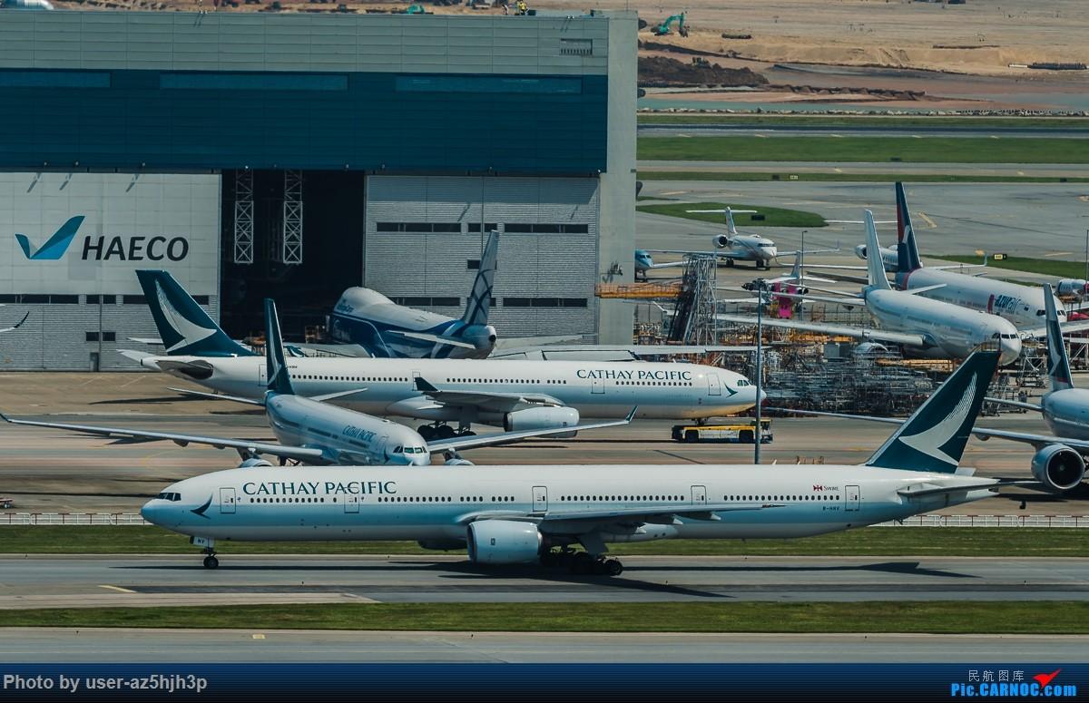 Re:[原创]8月21日 沙螺湾 BOEING 777-300ER B-HNV 香港国际机场