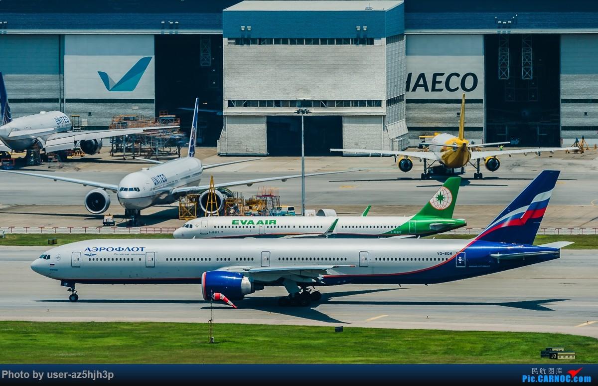 Re:[原创]8月21日 沙螺湾 BOEING 777-300ER VQ-BQN 香港国际机场