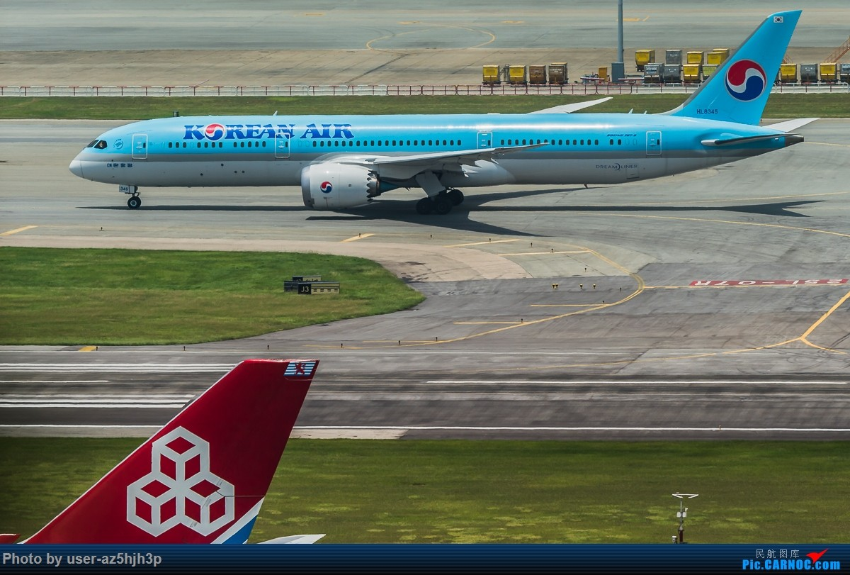 Re:[原创]8月21日 沙螺湾 BOEING 787-8 HL8345 香港国际机场