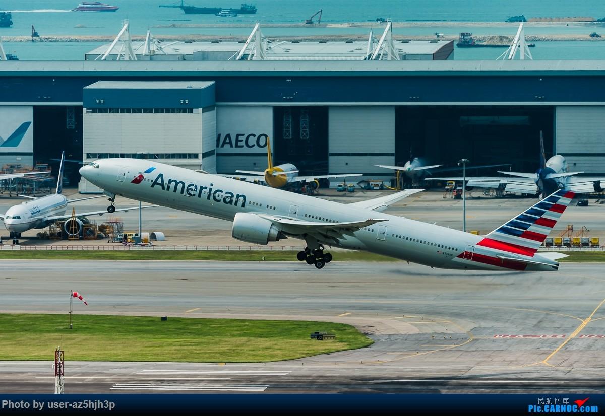 Re:[原创]8月21日 沙螺湾 BOEING 777-300 N733RA 香港国际机场