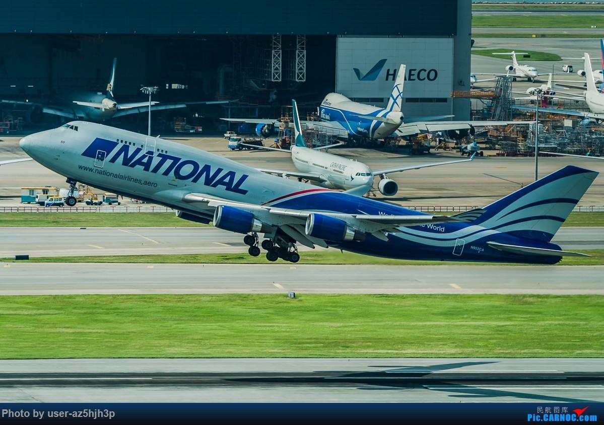 Re:[原创]8月21日 沙螺湾 BOEING 747-400 N952CA 香港国际机场