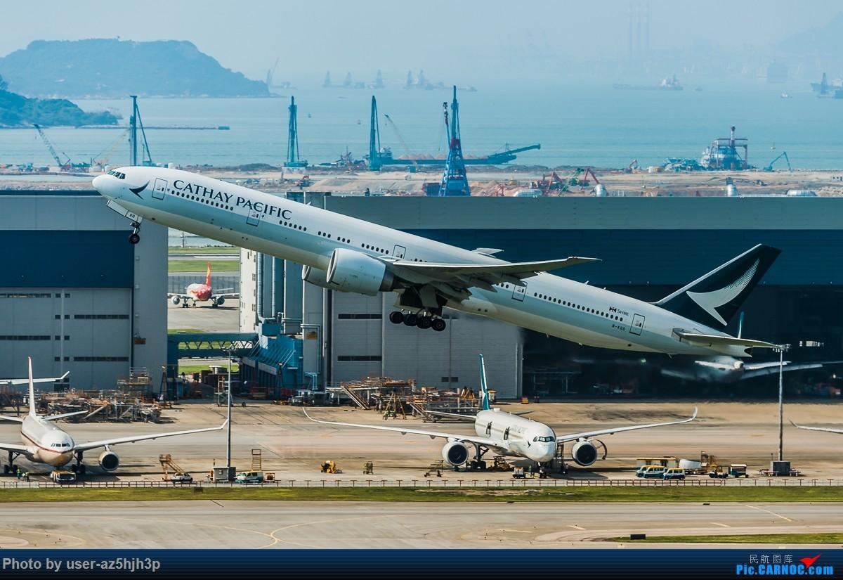 Re:[原创]8月21日 沙螺湾 BOEING 777-300ER B-KQD 香港国际机场
