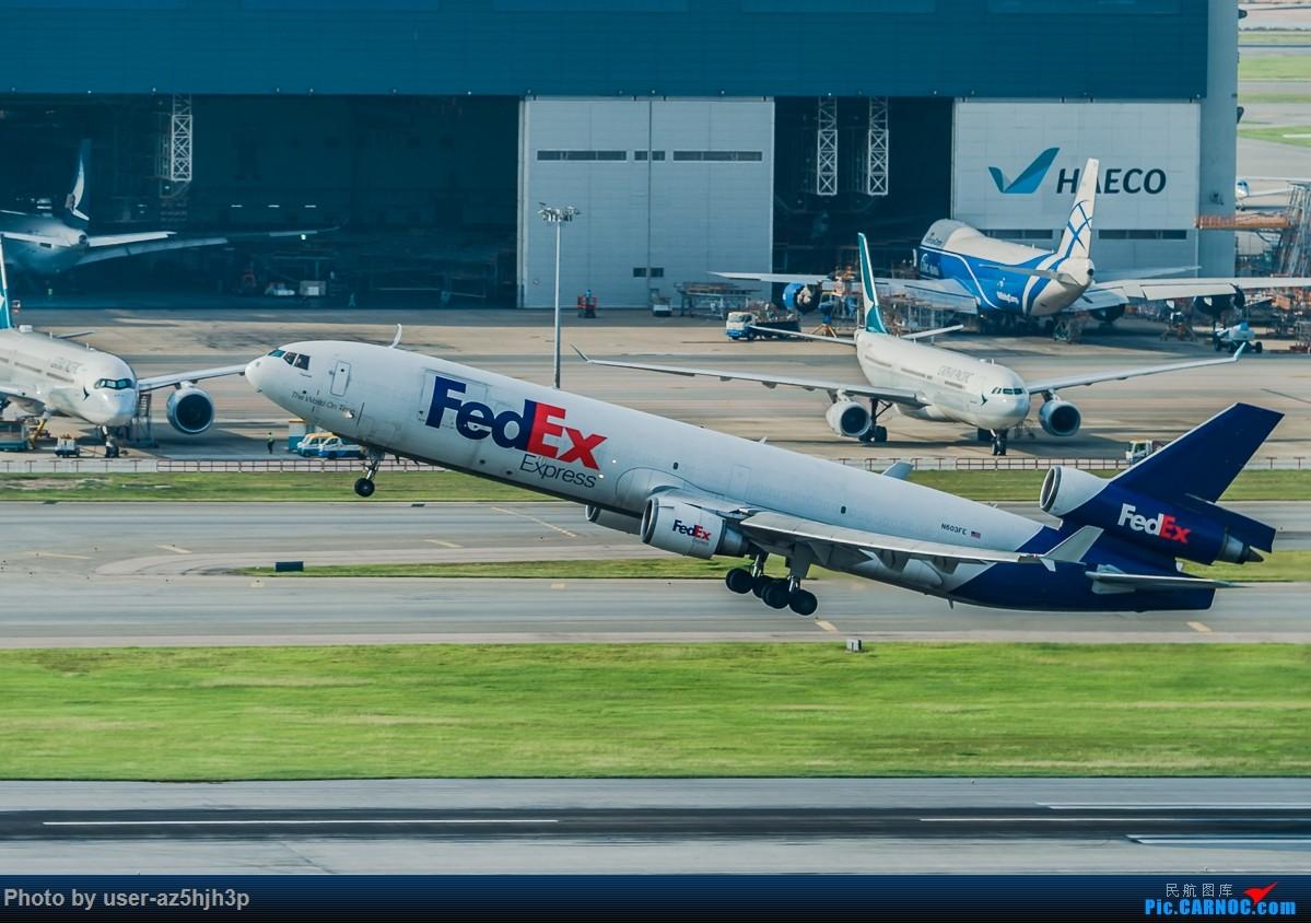 Re:[原创]8月21日 沙螺湾 麦道-11 N603FE 香港国际机场
