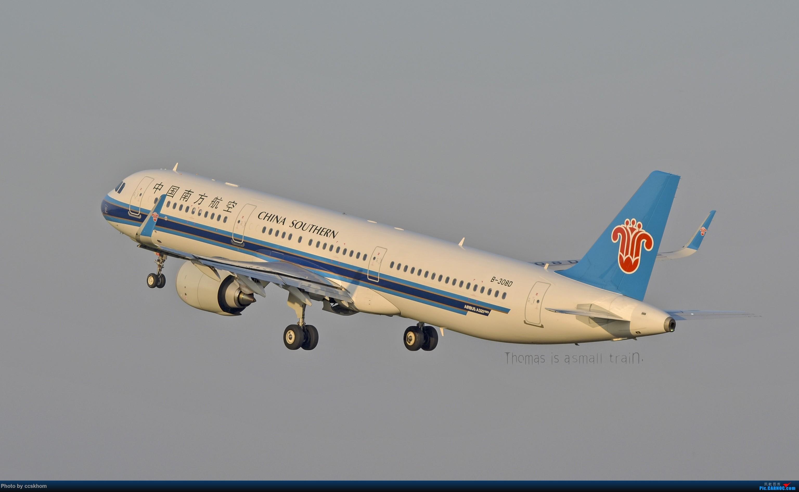 Re:[原创]【合肥飞友会.广州打机队】大白云的偶遇随拍 AIRBUS A321NEO B-308D 中国广州白云国际机场