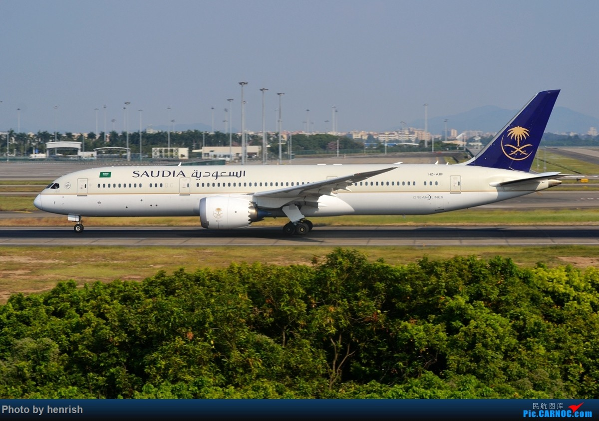 Re:[原创]【肥威的CAN】节前,西跑拍机。【 广东青少年拍机小队】【广州,你好!】 BOEING 787-9 HZ-ARF 中国广州白云国际机场