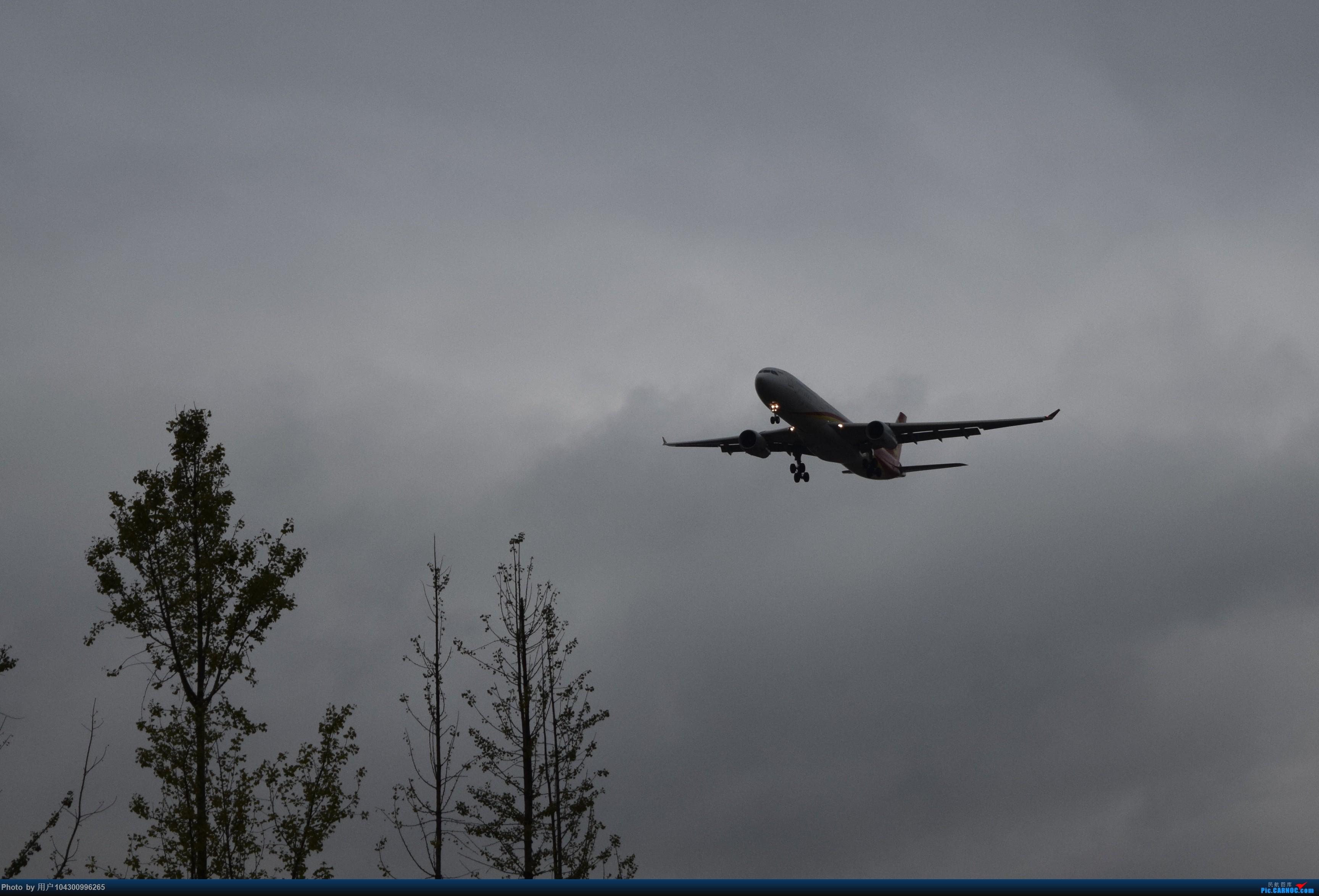 [原创]乌云、雨雾之中的贵阳龙洞堡    中国贵阳龙洞堡国际机场