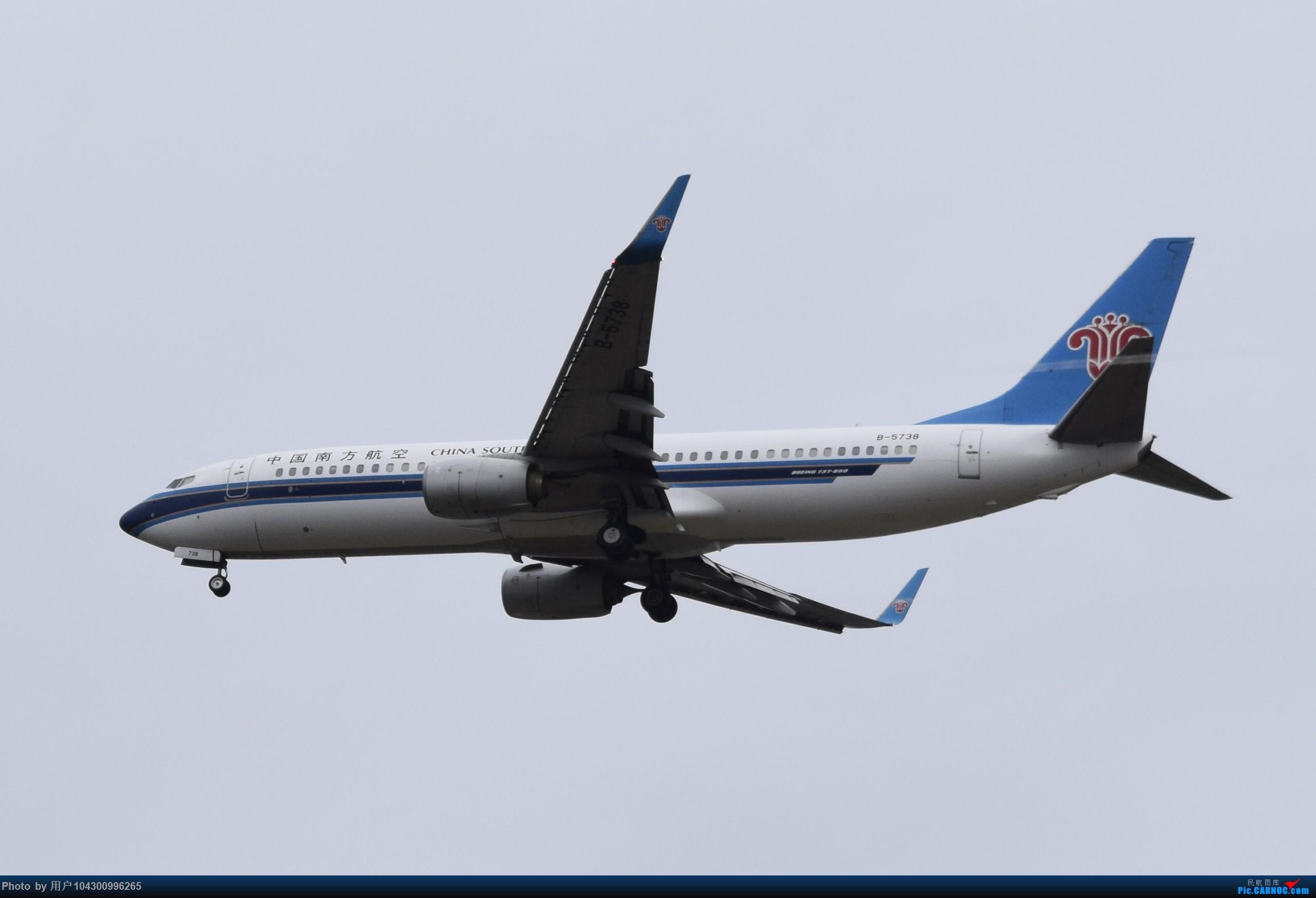 Re:[原创]乌云、雨雾之中的贵阳龙洞堡 BOEING 737-800 B-5738 中国贵阳龙洞堡国际机场