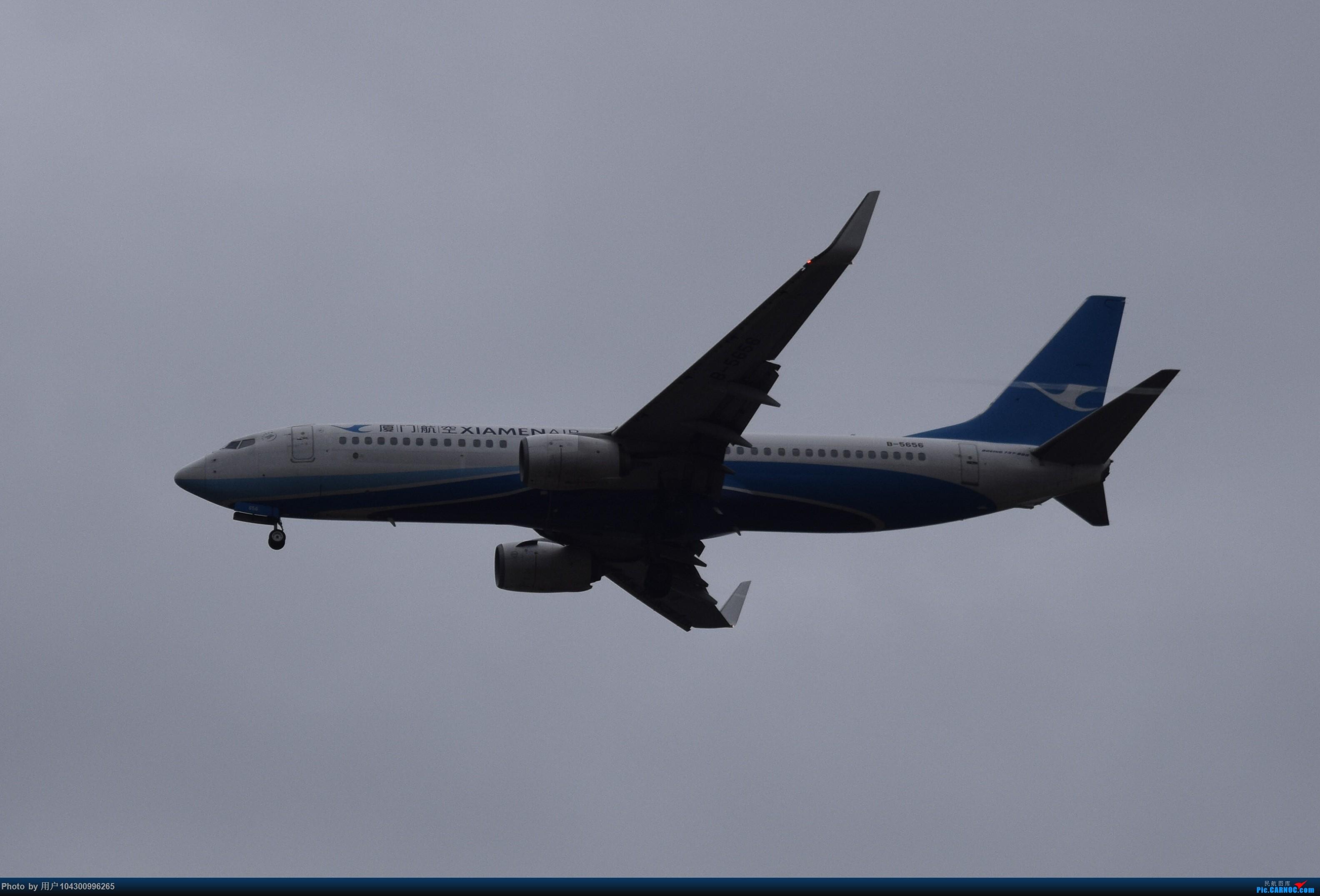Re:[原创]乌云、雨雾之中的贵阳龙洞堡 BOEING 737-800 B-5656 中国贵阳龙洞堡国际机场