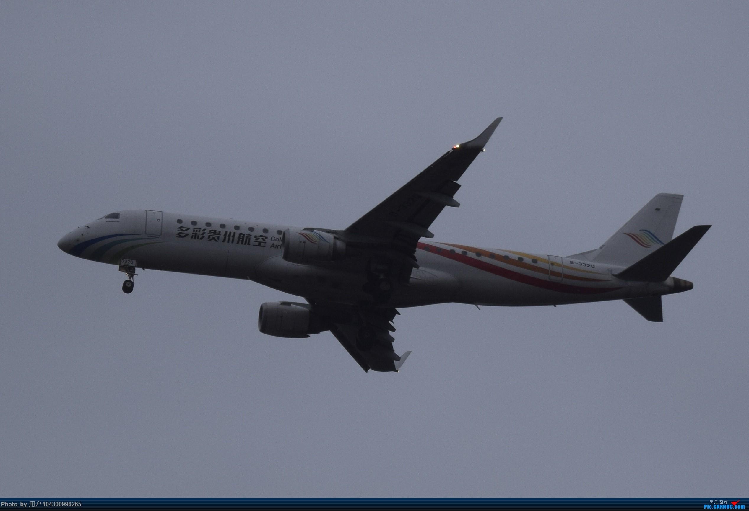 Re:[原创]乌云、雨雾之中的贵阳龙洞堡 EMBRAER E-190 B-3320 中国贵阳龙洞堡国际机场
