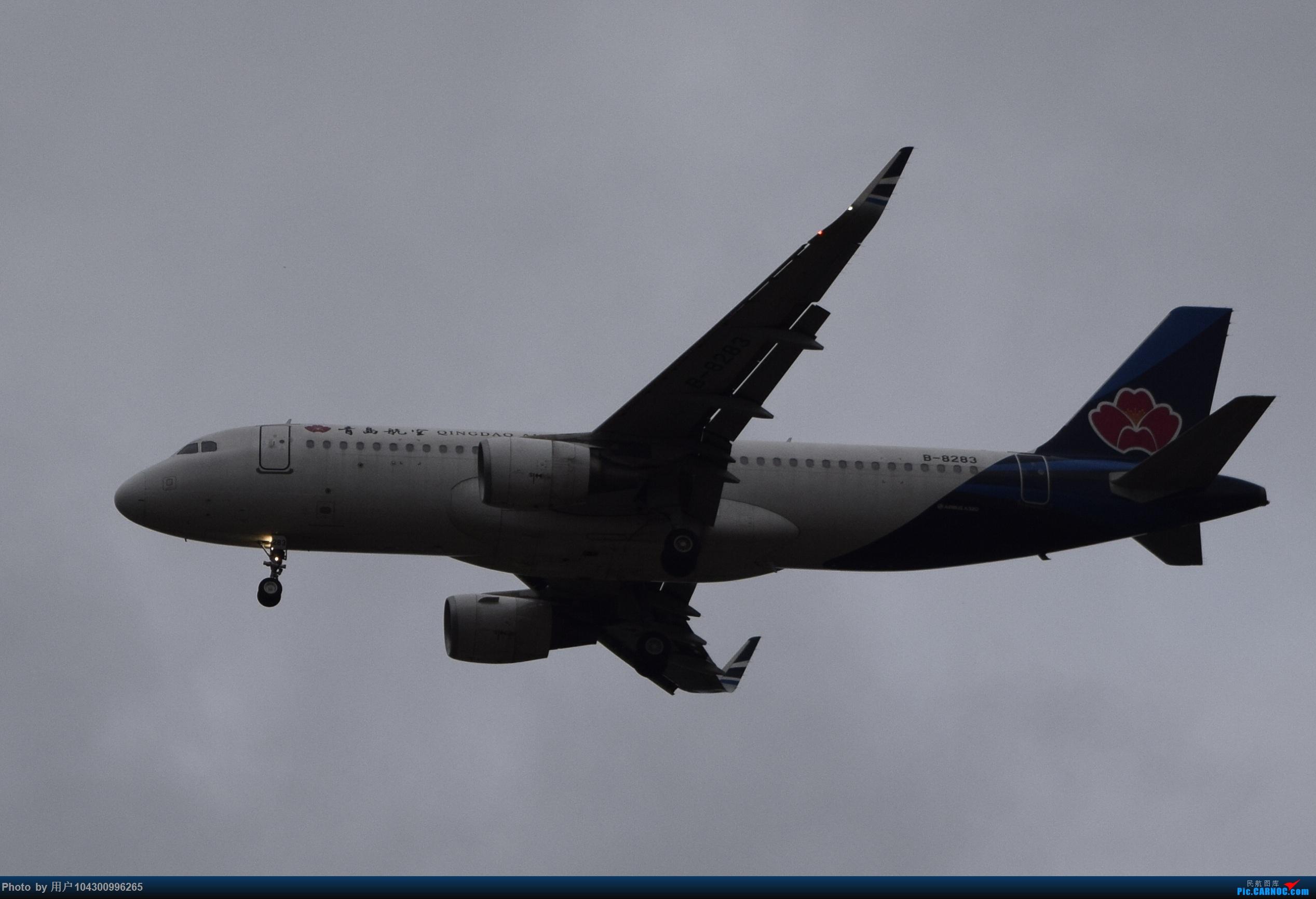 Re:[原创]乌云、雨雾之中的贵阳龙洞堡 AIRBUS A320-200 B-8283 中国贵阳龙洞堡国际机场