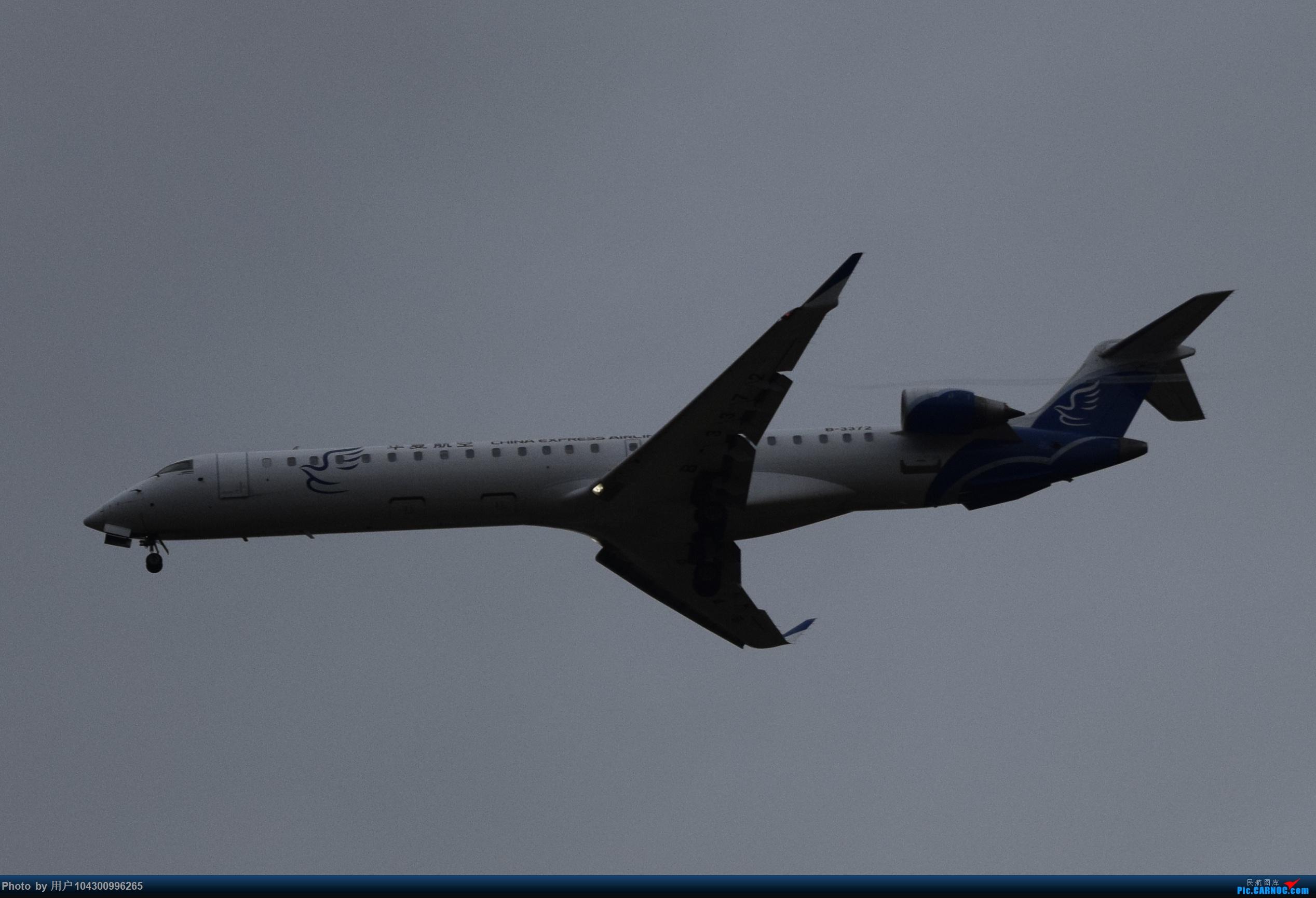 Re:[原创]乌云、雨雾之中的贵阳龙洞堡 BOMBARDIER CRJ900NG B-3372 中国贵阳龙洞堡国际机场