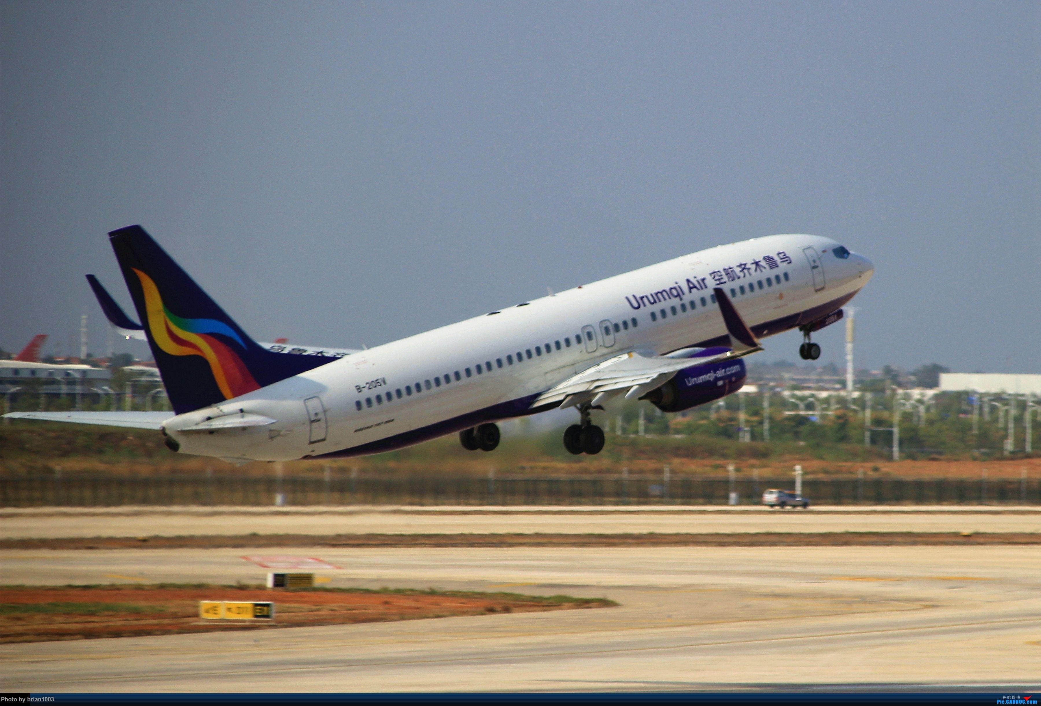 Re:[原创]WUH武汉天河机场拍机之精彩满满的十月(还可能更新) BOEING 737-800 B-205V 中国武汉天河国际机场