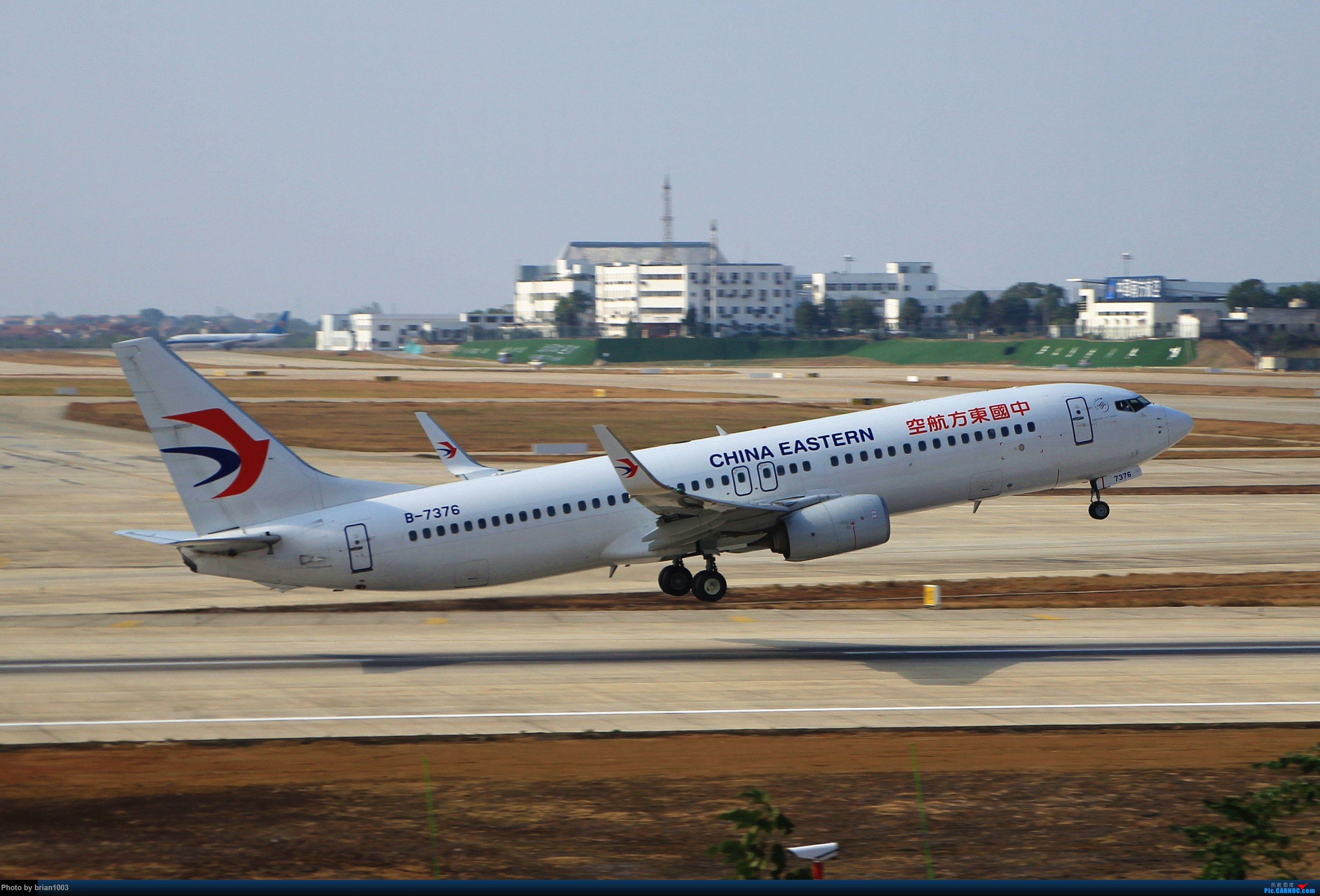 Re:[原创]WUH武汉天河机场拍机之精彩满满的十月(还可能更新) BOEING 737-800 B-7376 中国武汉天河国际机场