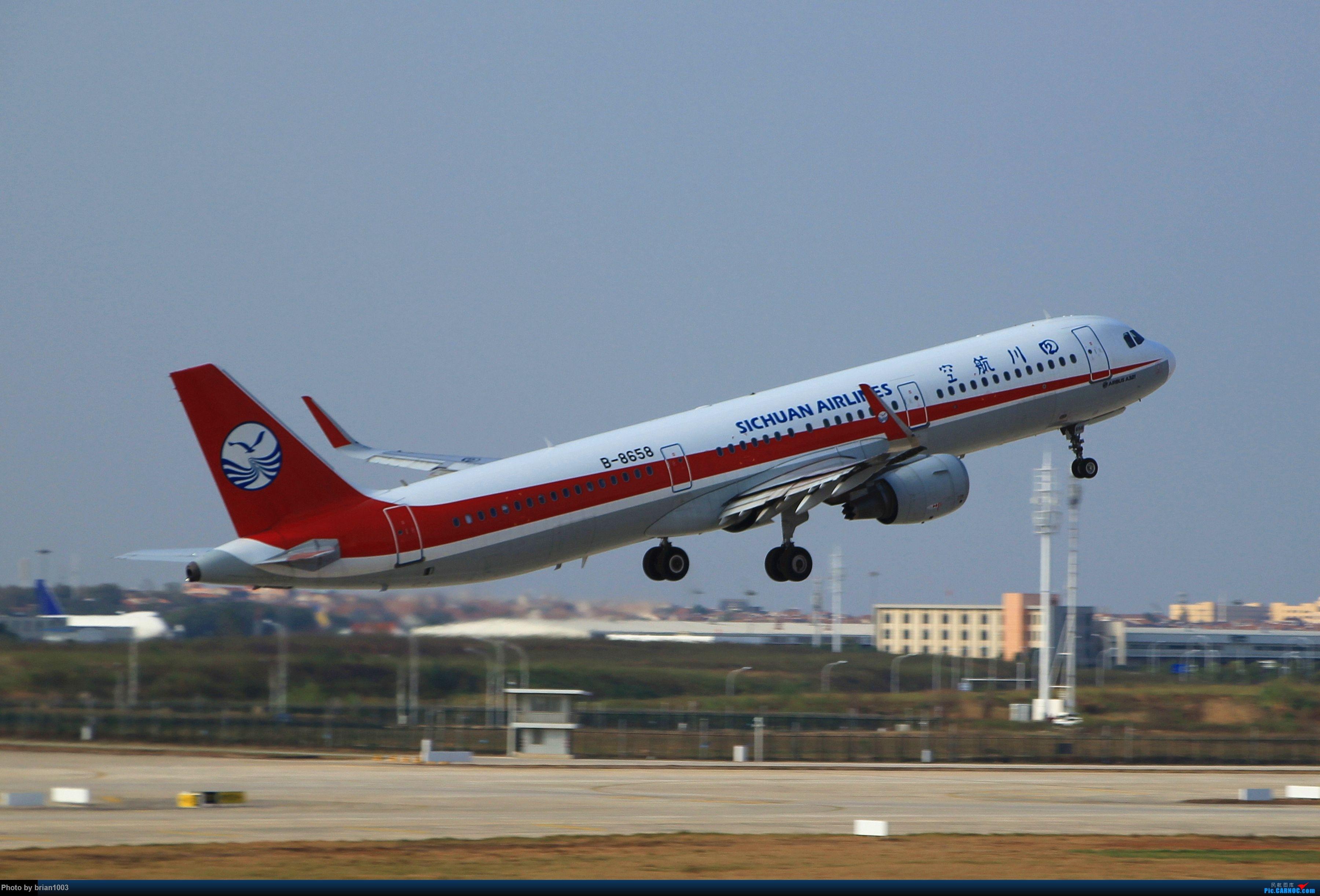 Re:[原创]WUH武汉天河机场拍机之精彩满满的十月(还可能更新) AIRBUS A321-200 B-8658 中国武汉天河国际机场