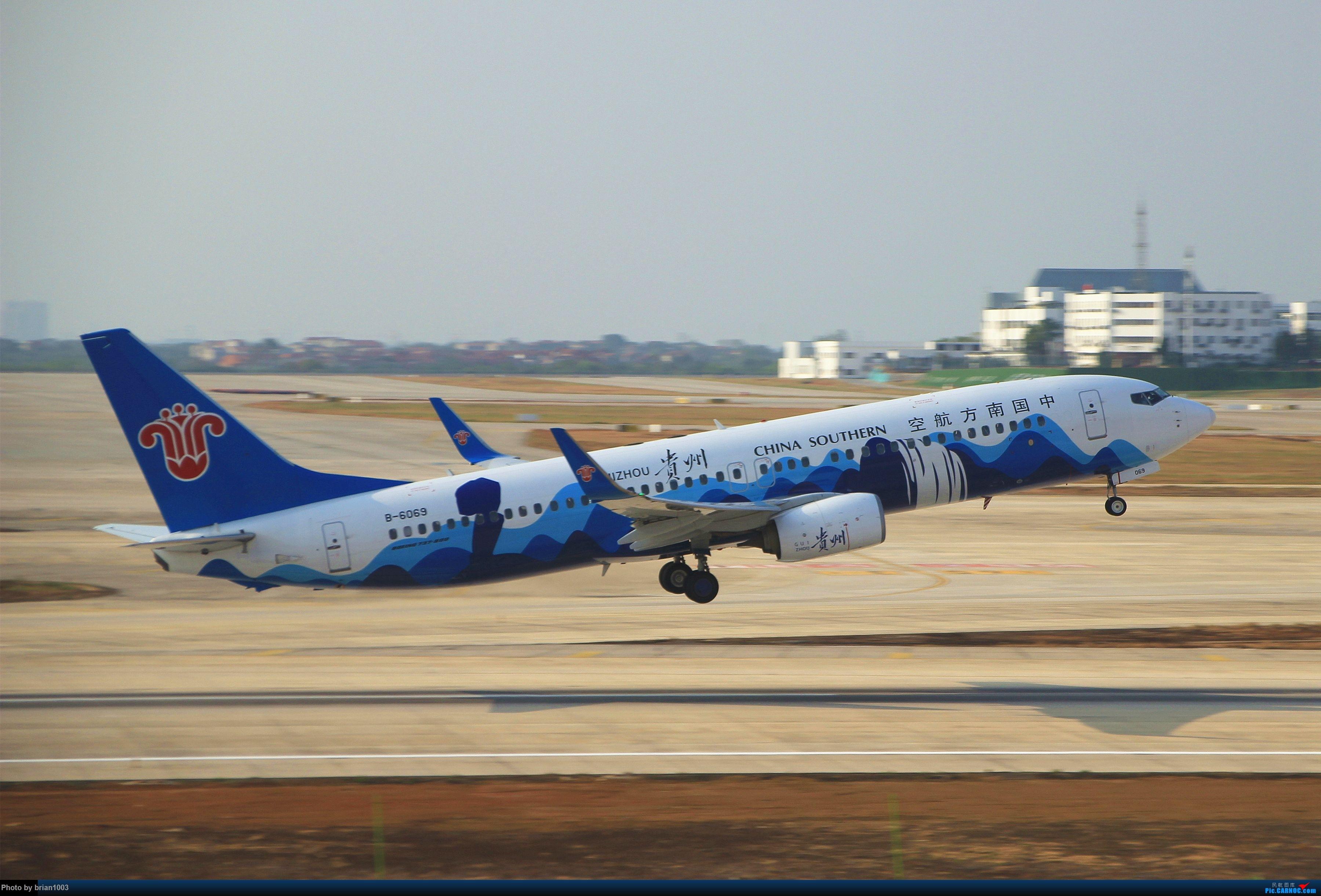 Re:[原创]WUH武汉天河机场拍机之精彩满满的十月(还可能更新) BOEING 737-800 B-6069 中国武汉天河国际机场