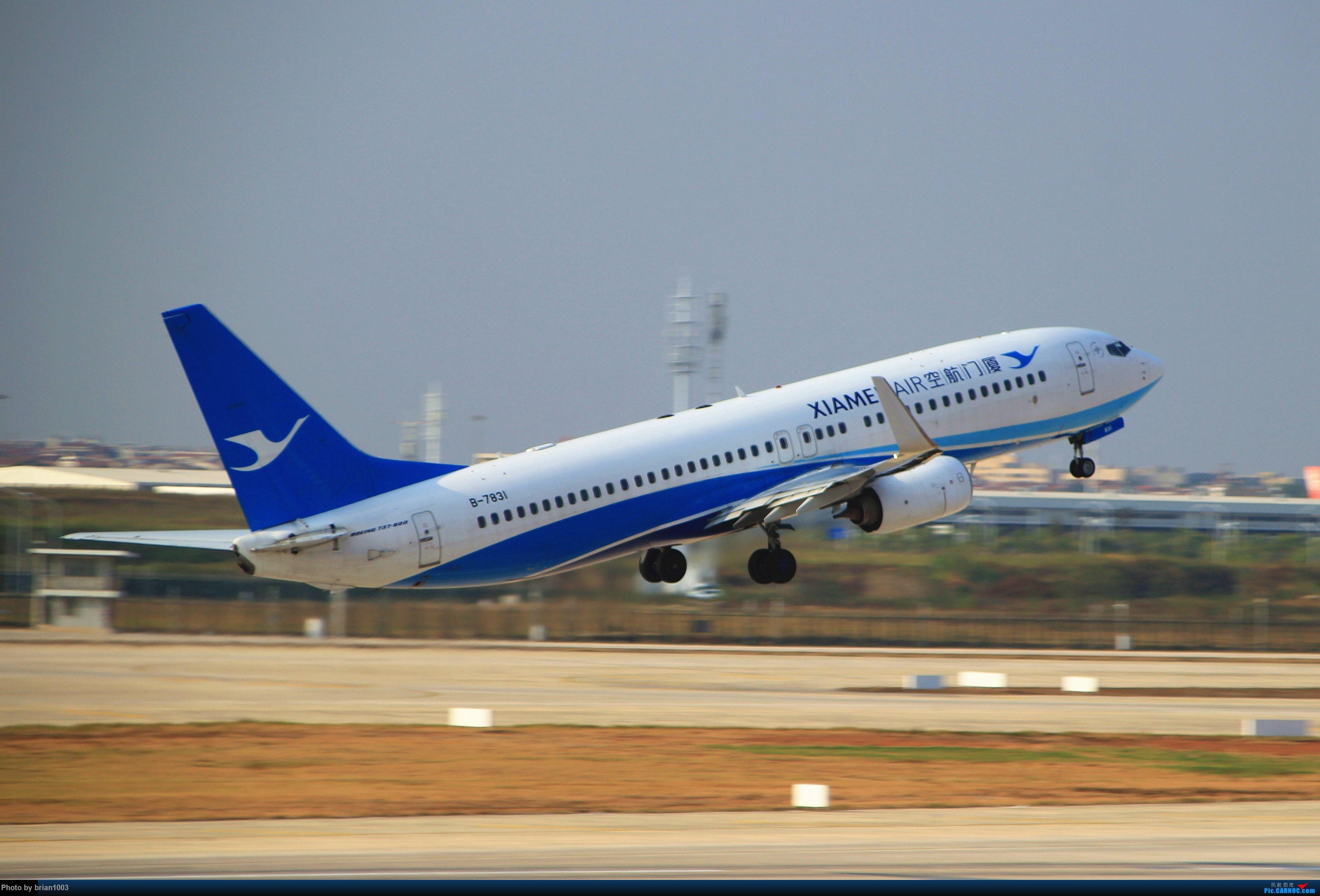 Re:[原创]WUH武汉天河机场拍机之精彩满满的十月(还可能更新) BOEING 737-800 B-7831 中国武汉天河国际机场