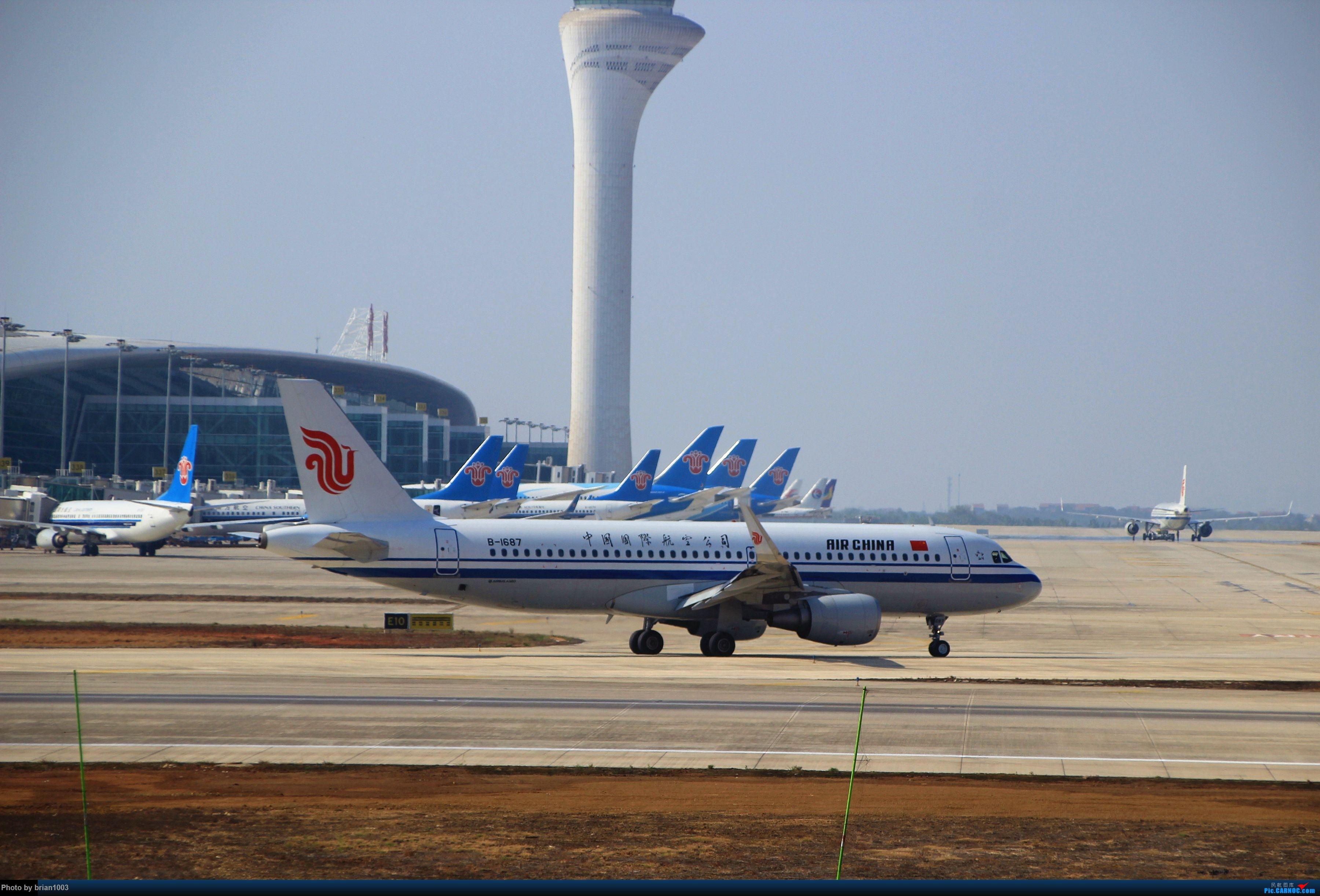 Re:[原创]WUH武汉天河机场拍机之精彩满满的十月(还可能更新) AIRBUS A320-200 B-1687 中国武汉天河国际机场