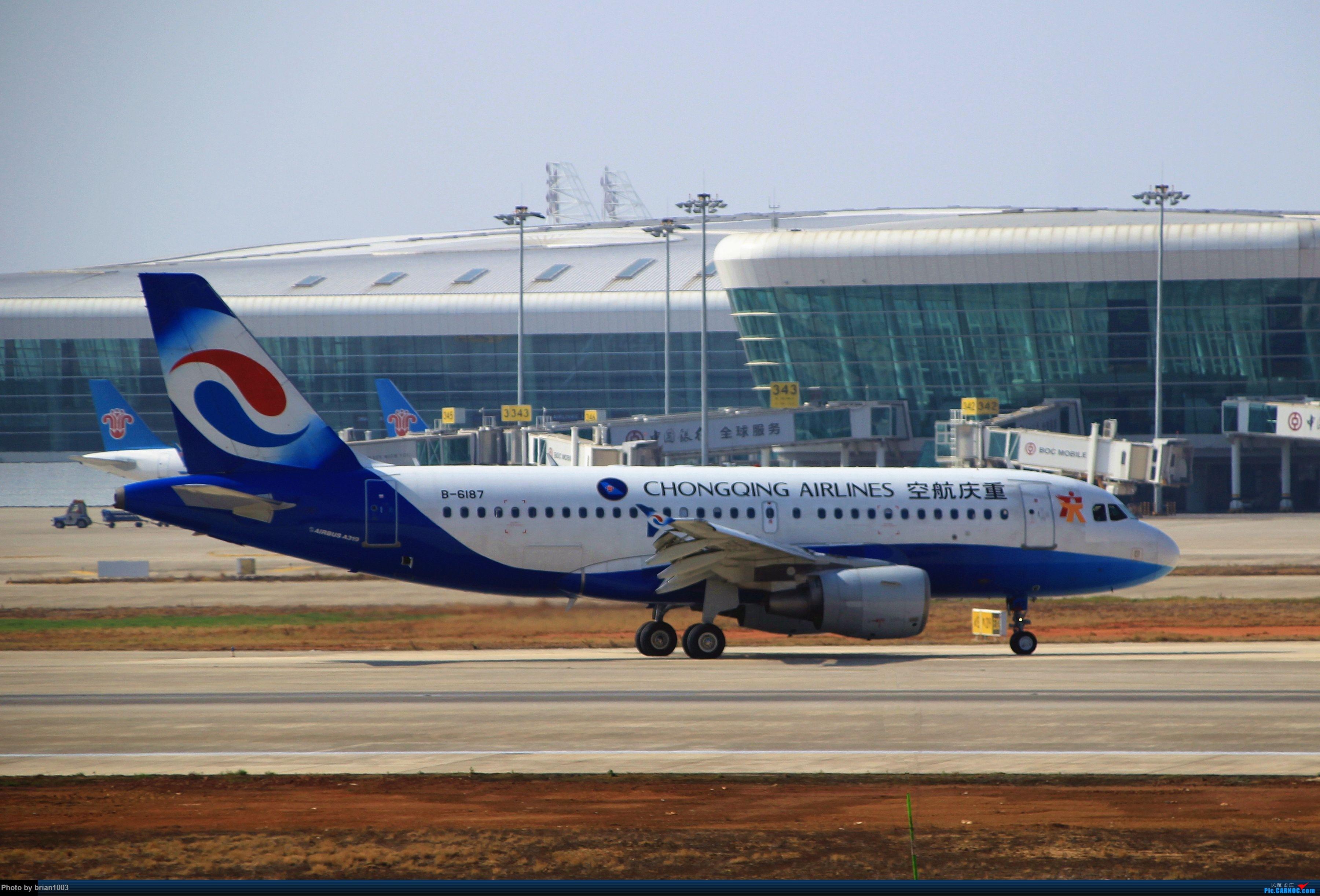 Re:[原创]WUH武汉天河机场拍机之精彩满满的十月(还可能更新) AIRBUS A319-100 B-6187 中国武汉天河国际机场