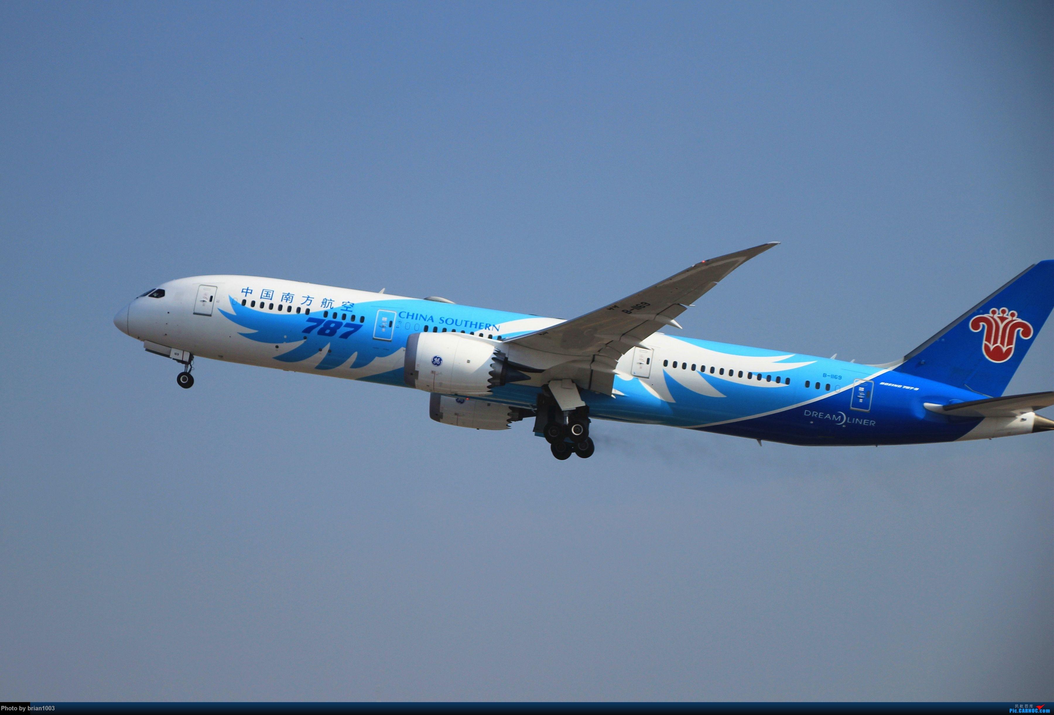 Re:[原创]WUH武汉天河机场拍机之精彩满满的十月(还可能更新) BOEING 787-9 B-1169 中国武汉天河国际机场