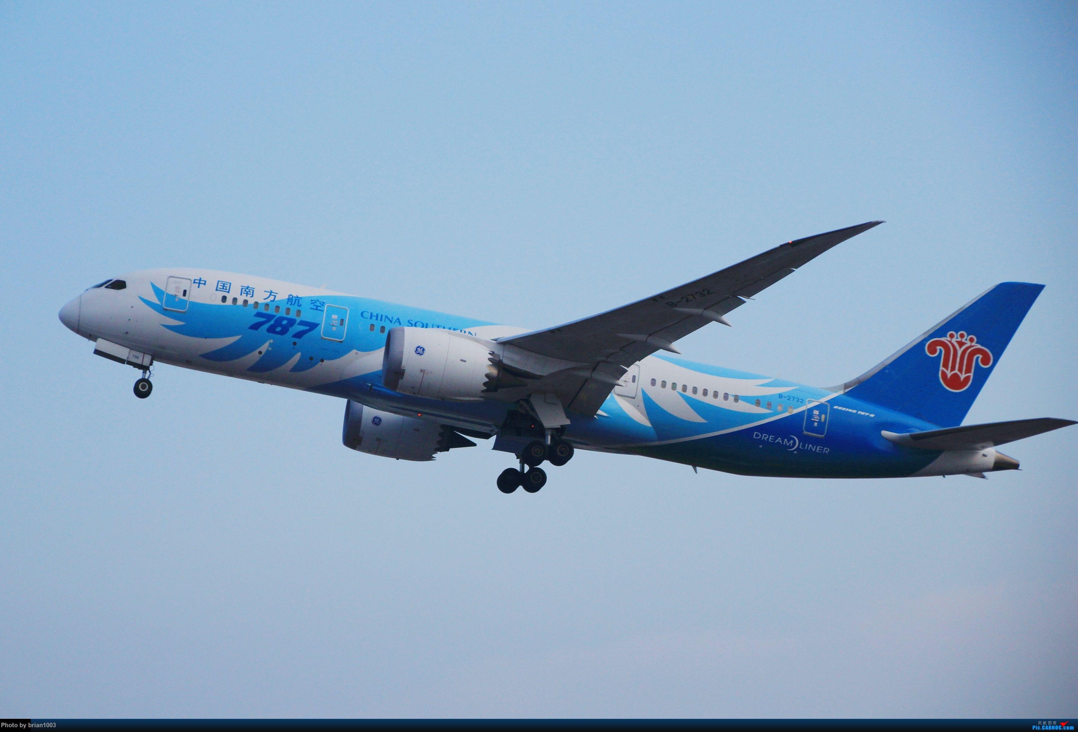 Re:[原创]WUH武汉天河机场拍机之精彩满满的十月(还可能更新) BOEING 787-8 B-2732 中国武汉天河国际机场