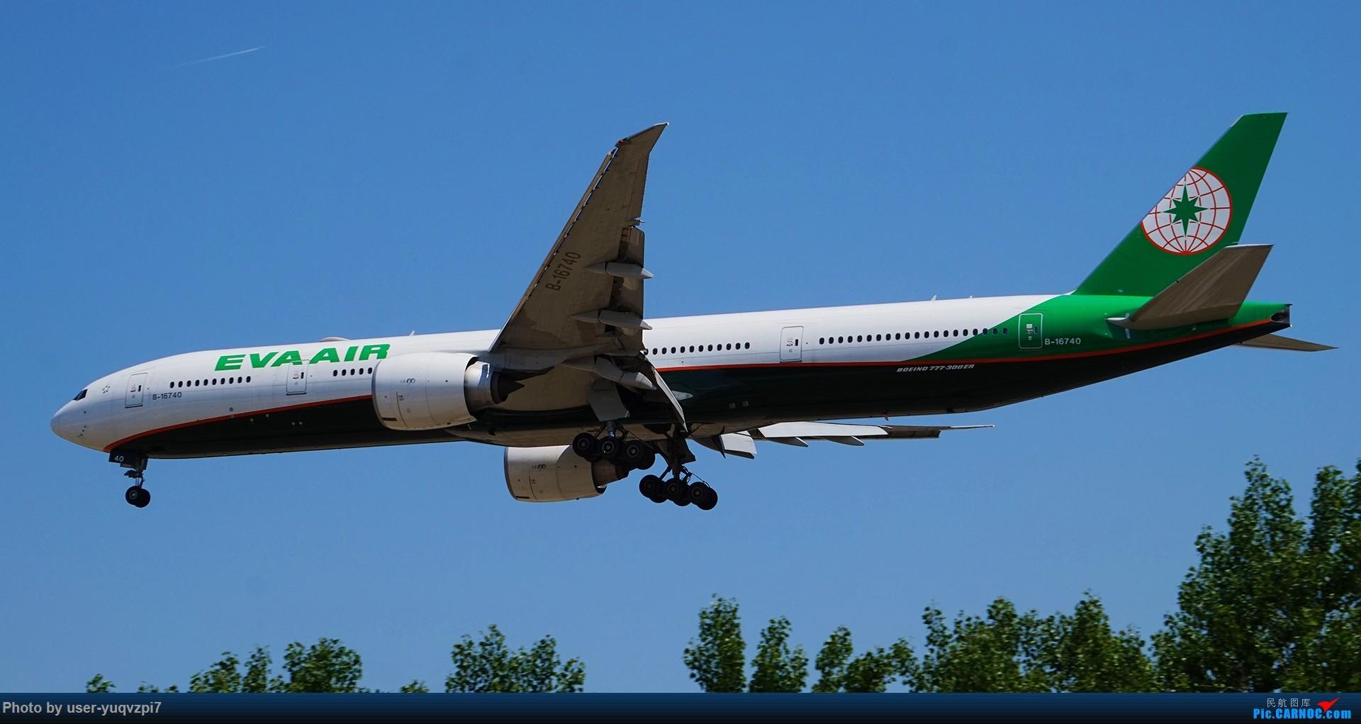 [原创]2019五一拍机 BOEING 777-300ER B-16740 中国北京首都国际机场