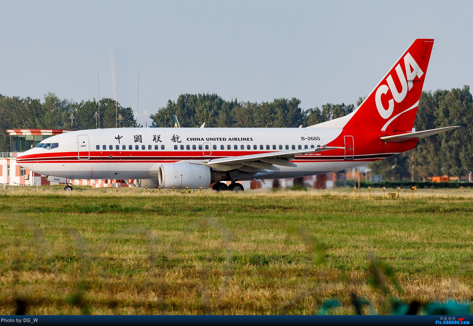 Re:[原创]【南宁飞友】NAY的最后一个周末,以及拍机点越来越少的PEK BOEING 737-700 B-2685 中国北京南苑机场