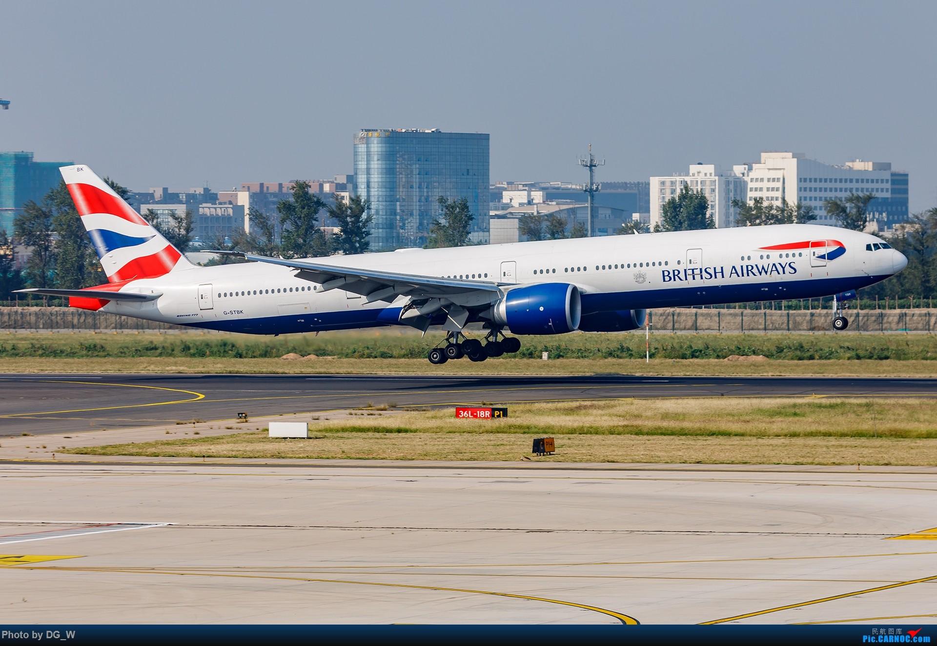 Re:[原创]【南宁飞友】NAY的最后一个周末,以及拍机点越来越少的PEK BOEING 777-300ER G-STBK 中国北京首都国际机场