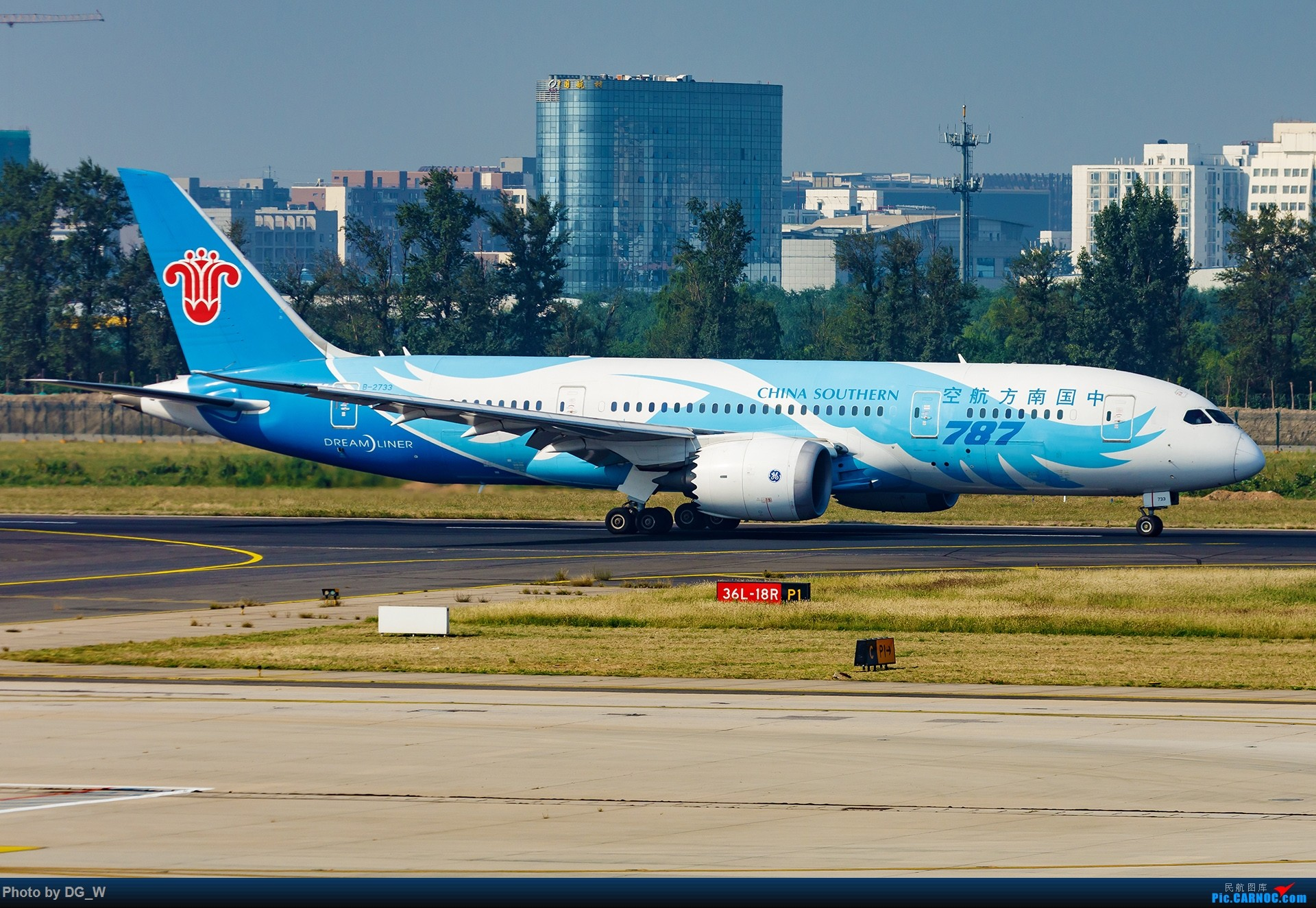 Re:[原创]【南宁飞友】NAY的最后一个周末,以及拍机点越来越少的PEK BOEING 787-8 B-2733 中国北京首都国际机场