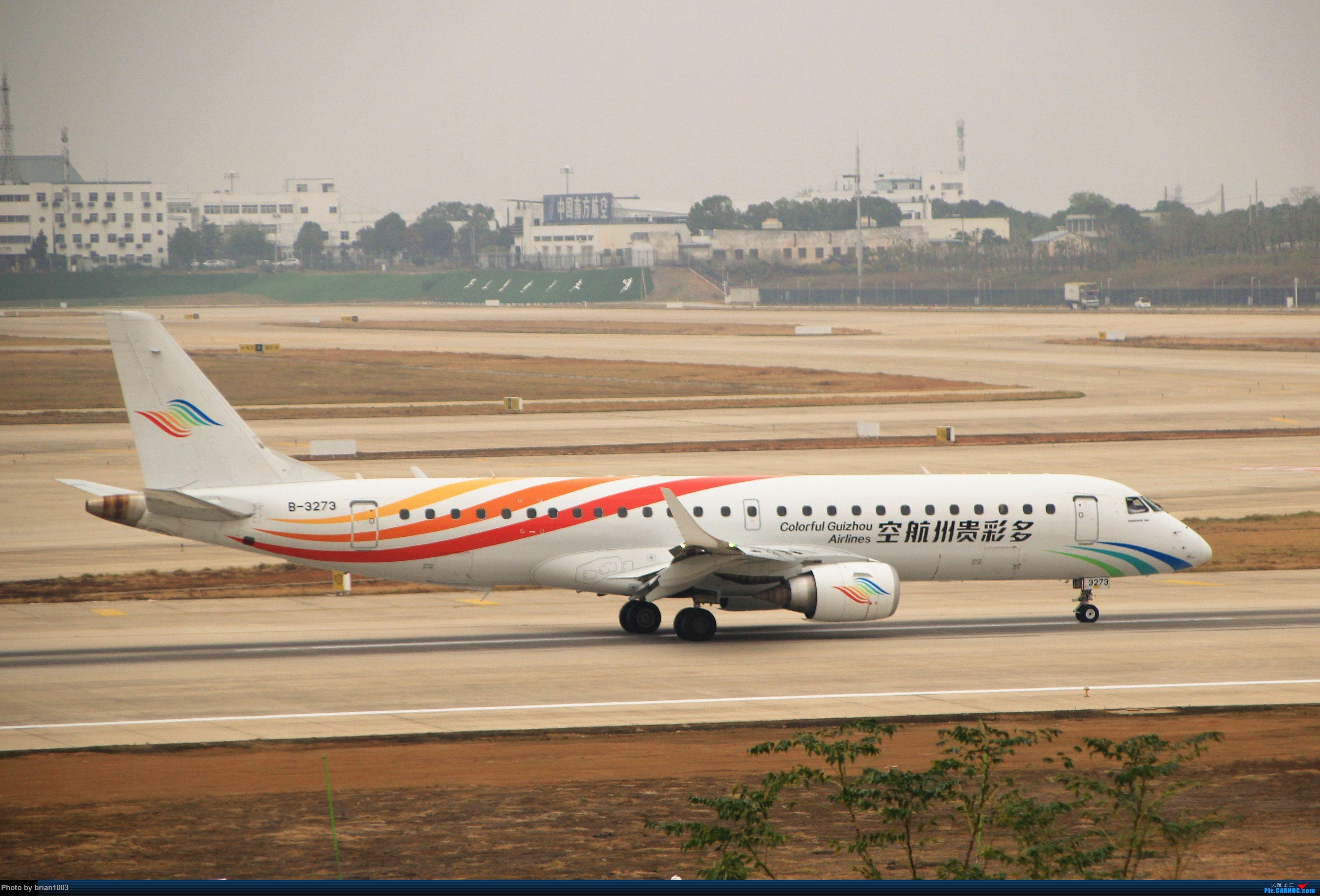 Re:[原创]WUH武汉天河机场拍机之精彩满满的十月(还可能更新) EMBRAER E-190 B-3273 中国武汉天河国际机场