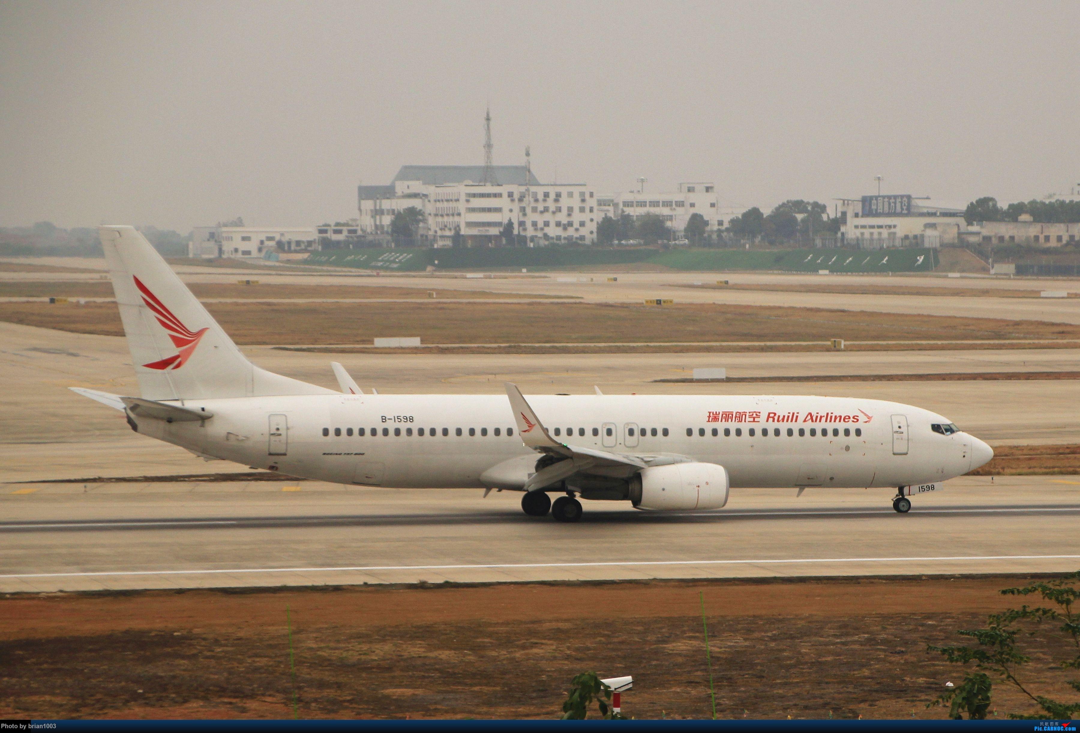 Re:[原创]WUH武汉天河机场拍机之精彩满满的十月(还可能更新) BOEING 737-800 B-1598 中国武汉天河国际机场