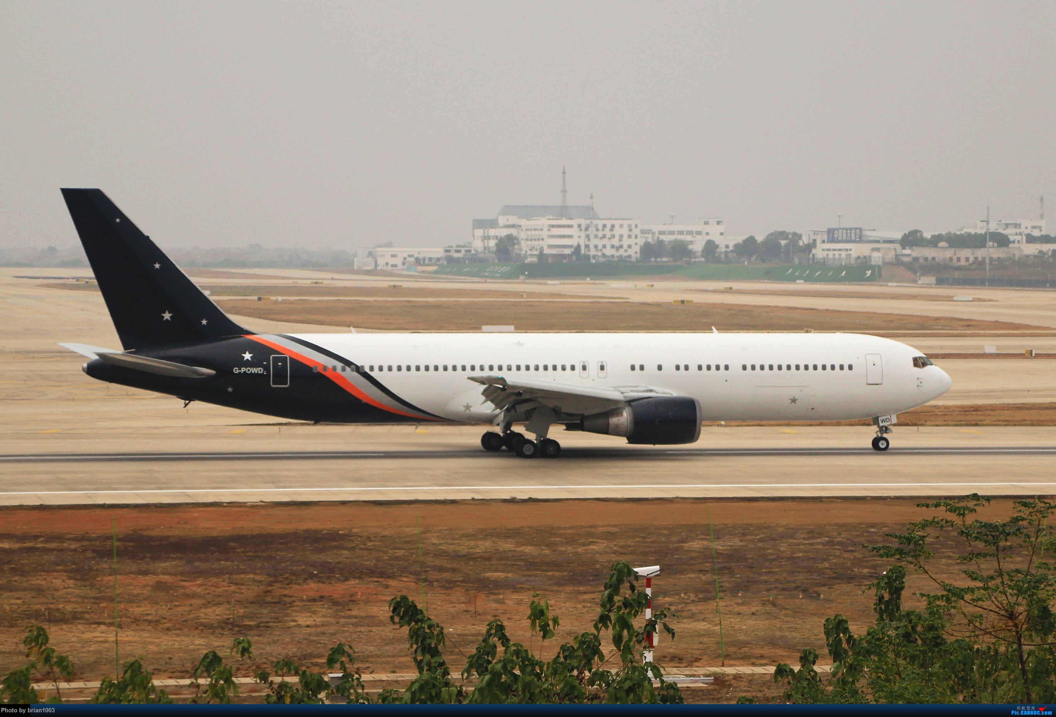 Re:[原创]WUH武汉天河机场拍机之精彩满满的十月(还可能更新) BOEING 767-300 G-POWD 中国武汉天河国际机场