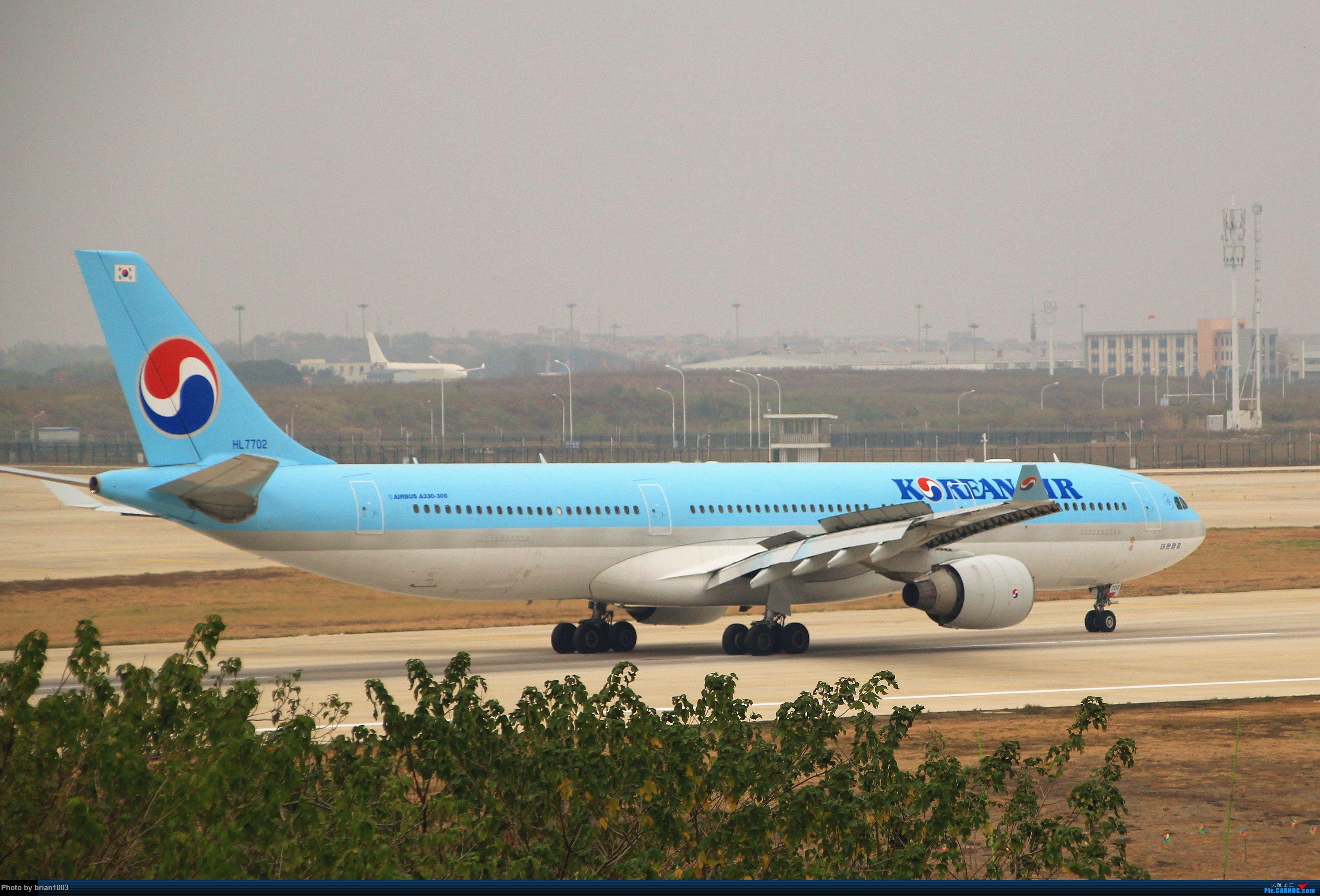 Re:[原创]WUH武汉天河机场拍机之精彩满满的十月(还可能更新) AIRBUS A330-300 HL7702 中国武汉天河国际机场