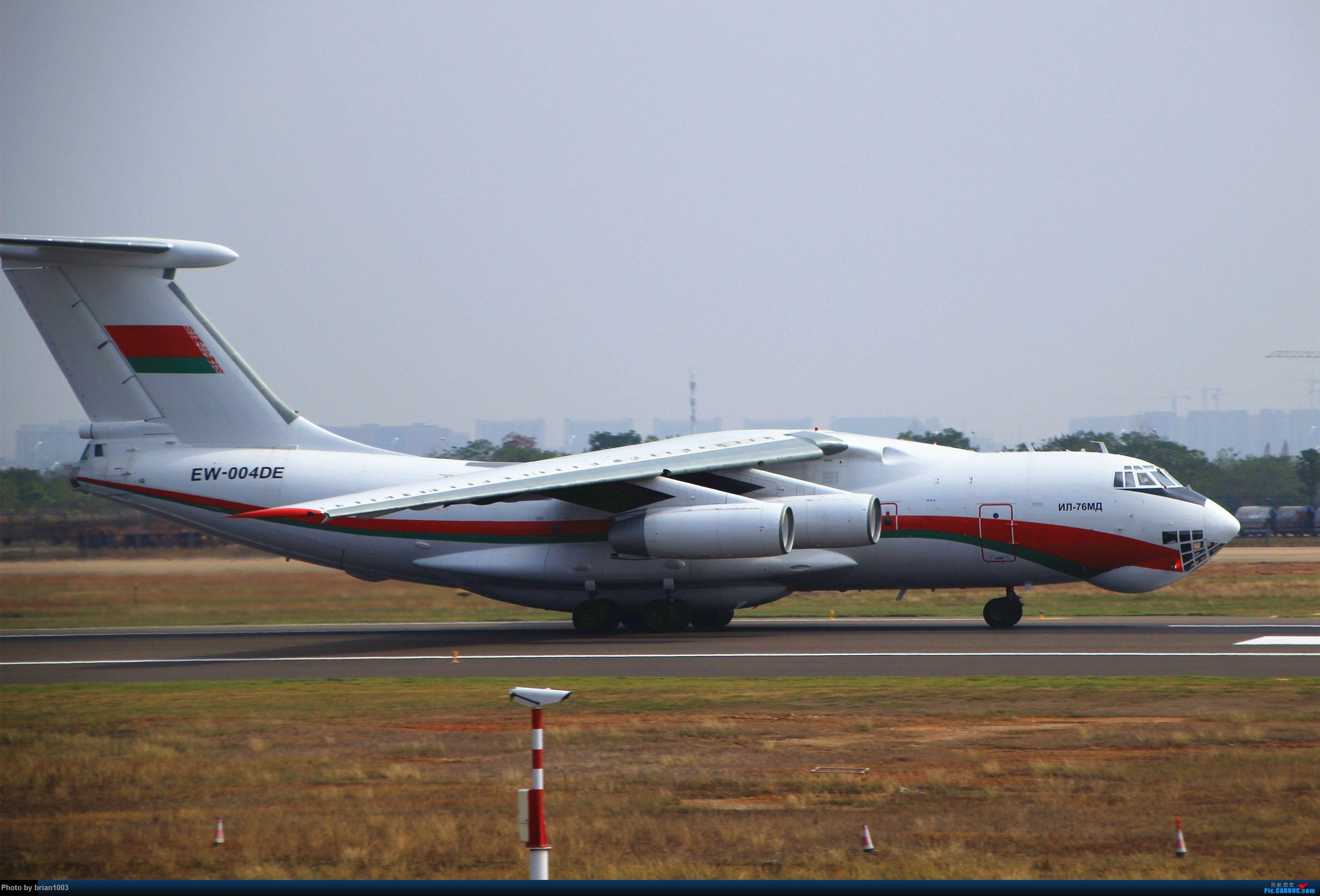 """Re:[原创]WUH武汉天河机场拍机之""""彩蛋""""满满的十月(更新至10月27日的763) ILYUSHIN IL-76 EW-004DE 中国武汉天河国际机场"""