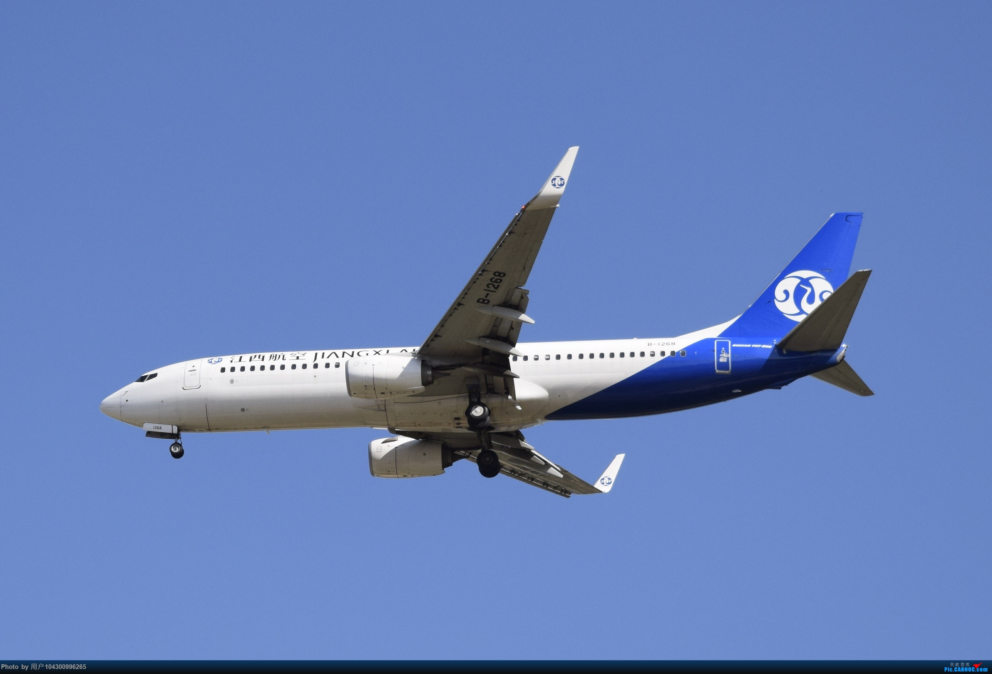 Re:[原创]大雾以后KWE降落高峰,偶遇多彩贵州航空A320neo BOEING 737-800 B-1268 中国贵阳龙洞堡国际机场