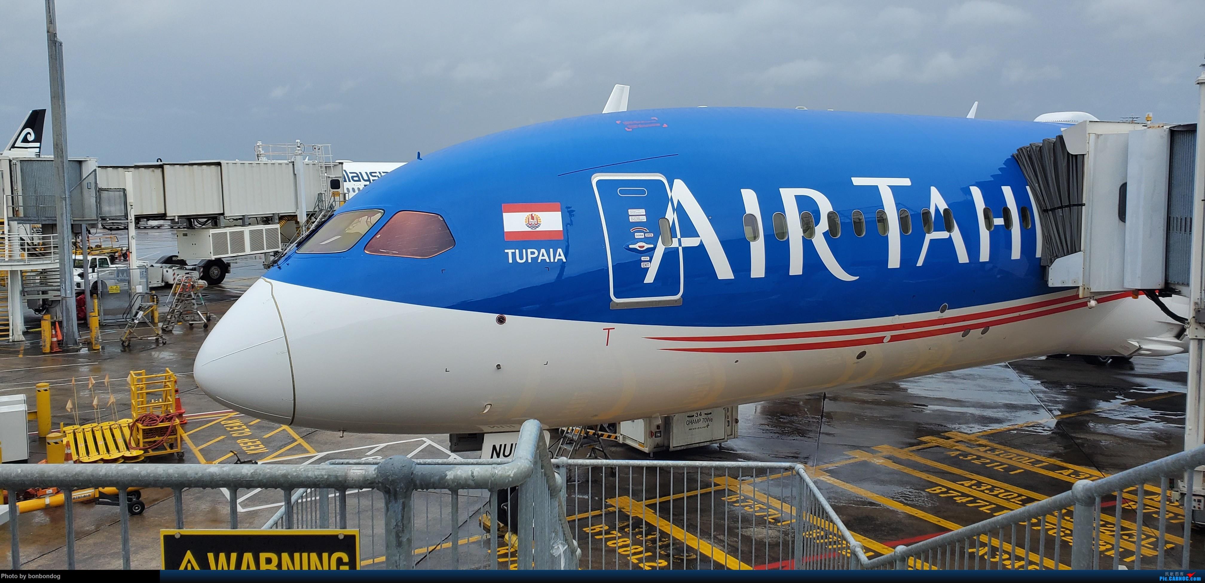 [原创]AIR TAHITI AKL-PPT LATAM PPT-IPC-SCL-AKL BOEING 787-9 FONUI 新西兰奥克兰机场