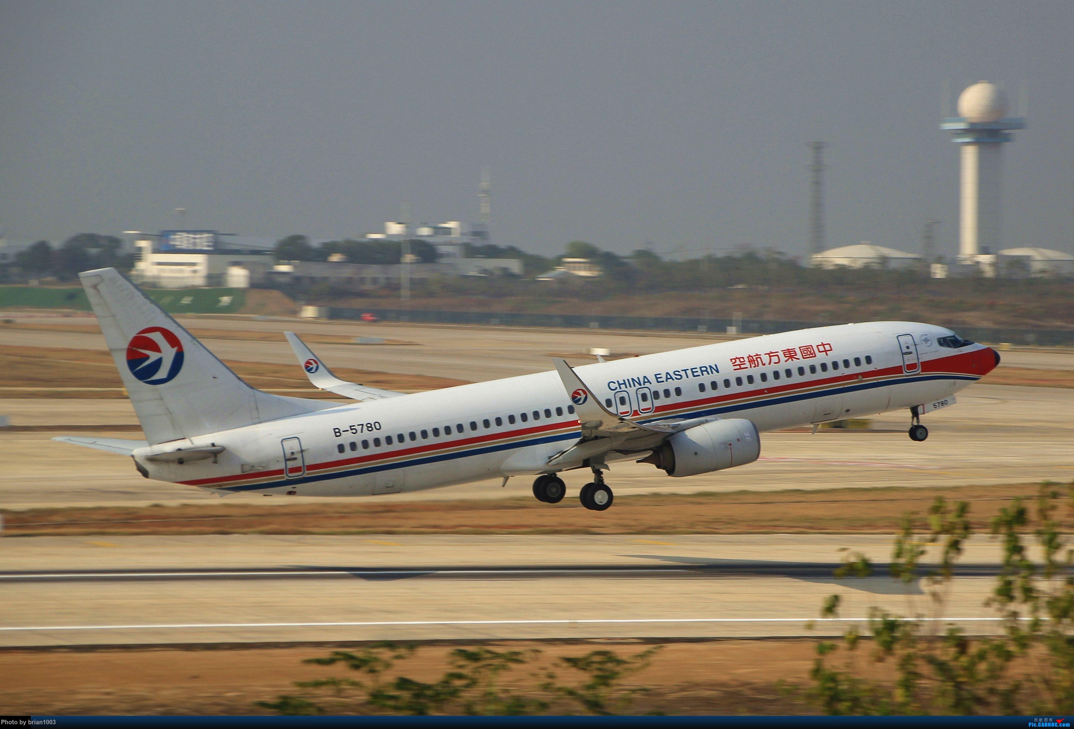 Re:[原创]WUH武汉天河机场拍机之新航季来的海航333和幸福的738 BOEING 737-800 B-5780 中国武汉天河国际机场