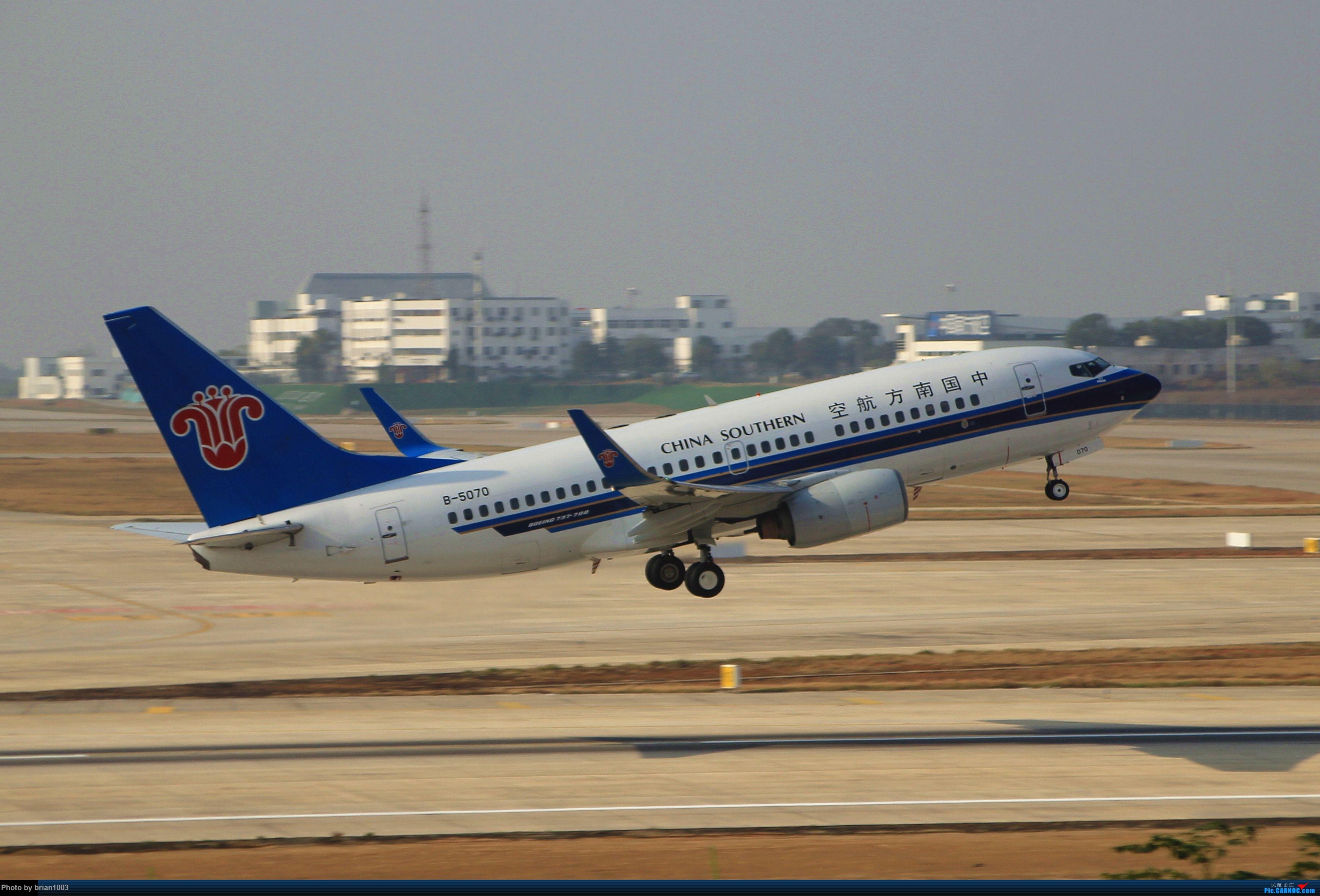Re:[原创]WUH武汉天河机场拍机之新航季来的海航333和幸福的738 BOEING 737-700 B-5070 中国武汉天河国际机场