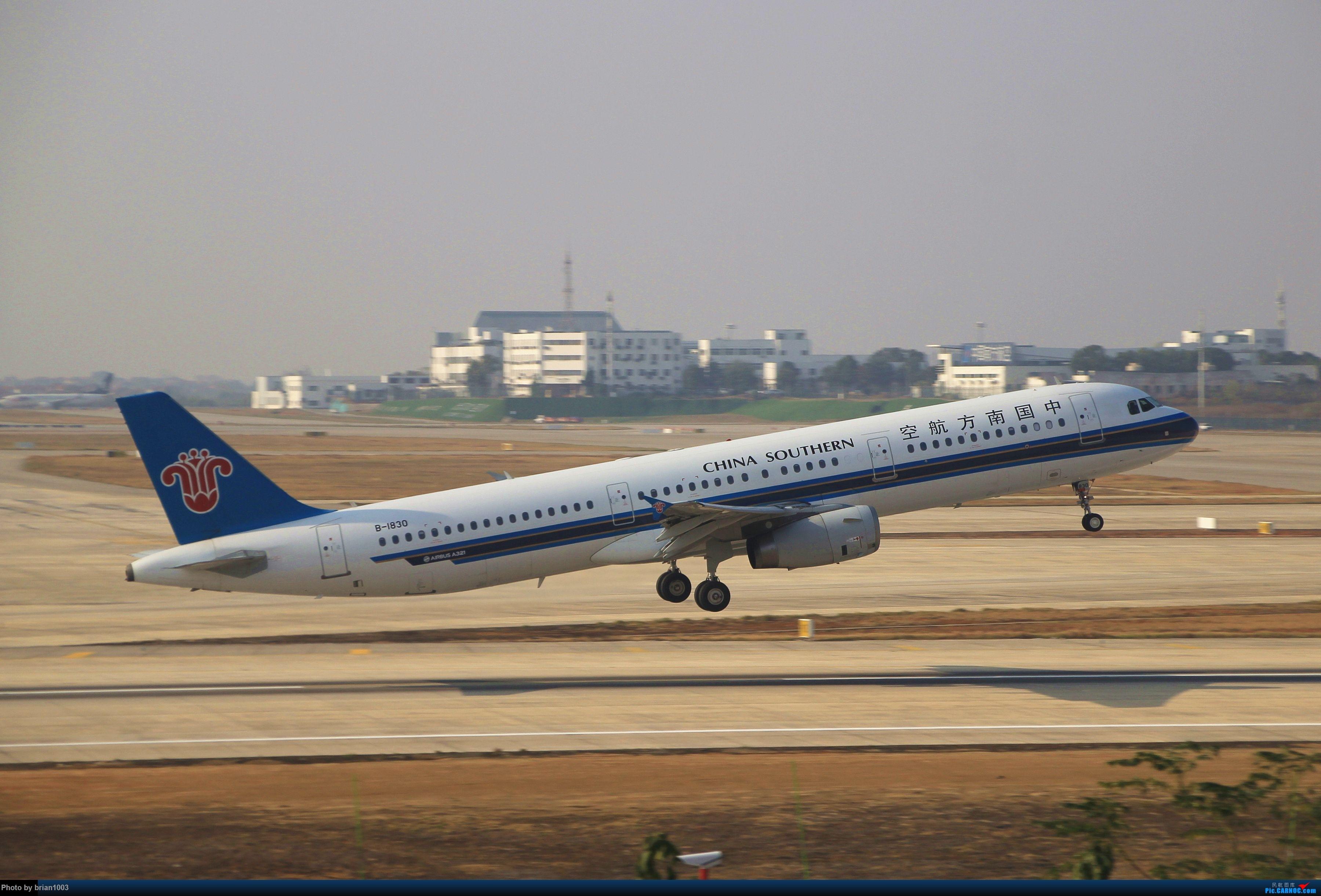 Re:[原创]WUH武汉天河机场拍机之新航季来的海航333和幸福的738 AIRBUS A321-200 B-1830 中国武汉天河国际机场
