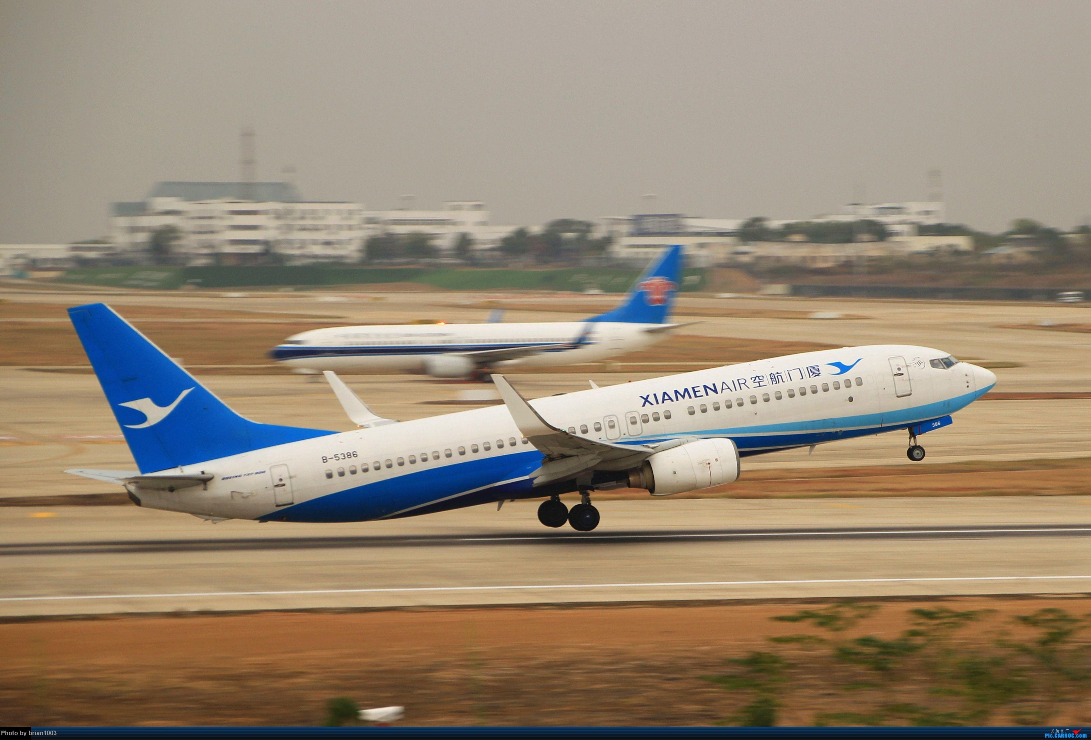 Re:[原创]WUH武汉天河机场拍机之新航季来的海航333和幸福的738 BOEING 737-800 B-5386 中国武汉天河国际机场