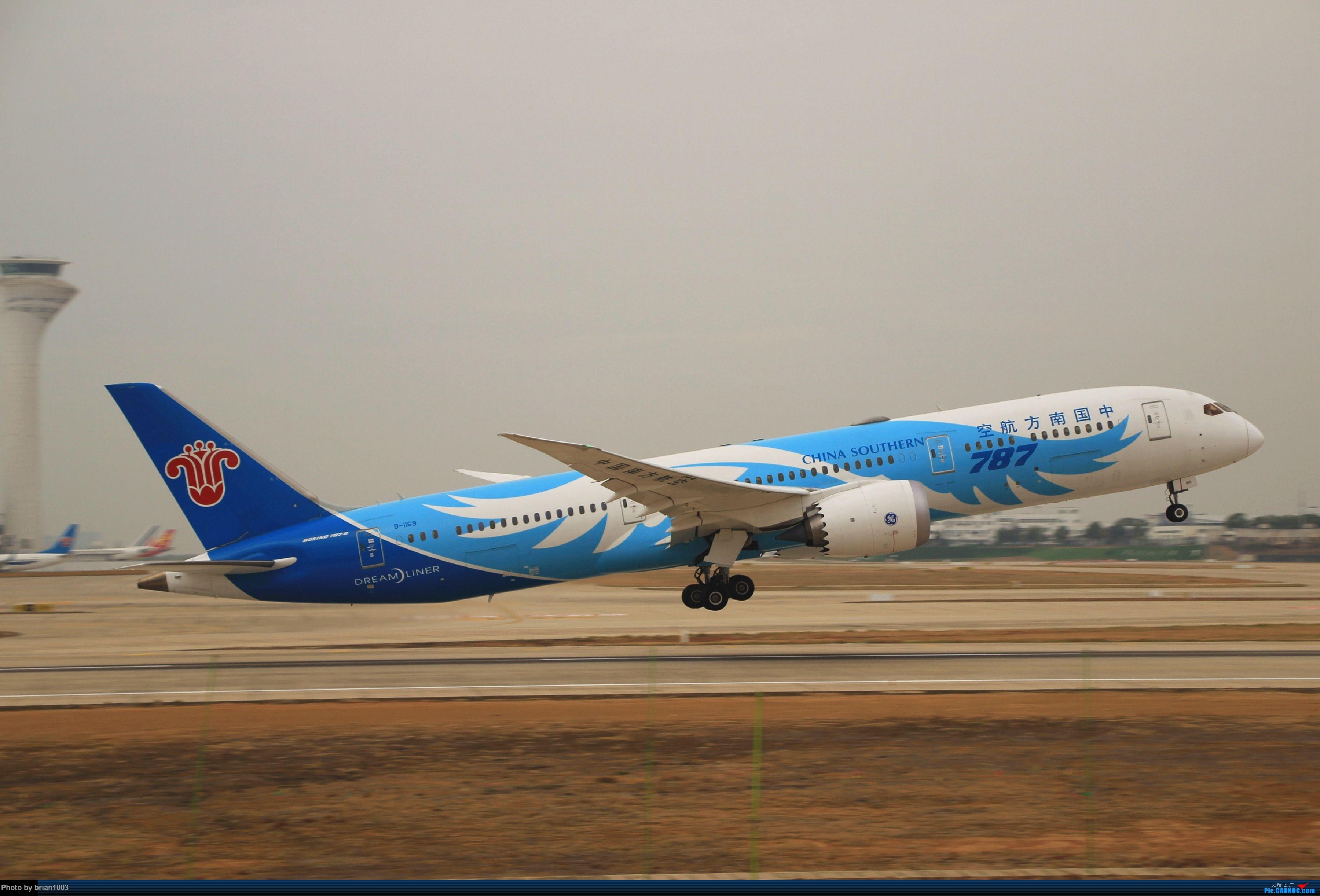 Re:[原创]WUH武汉天河机场拍机之新航季来的海航333和幸福的738 BOEING 787-9 B-1169 中国武汉天河国际机场