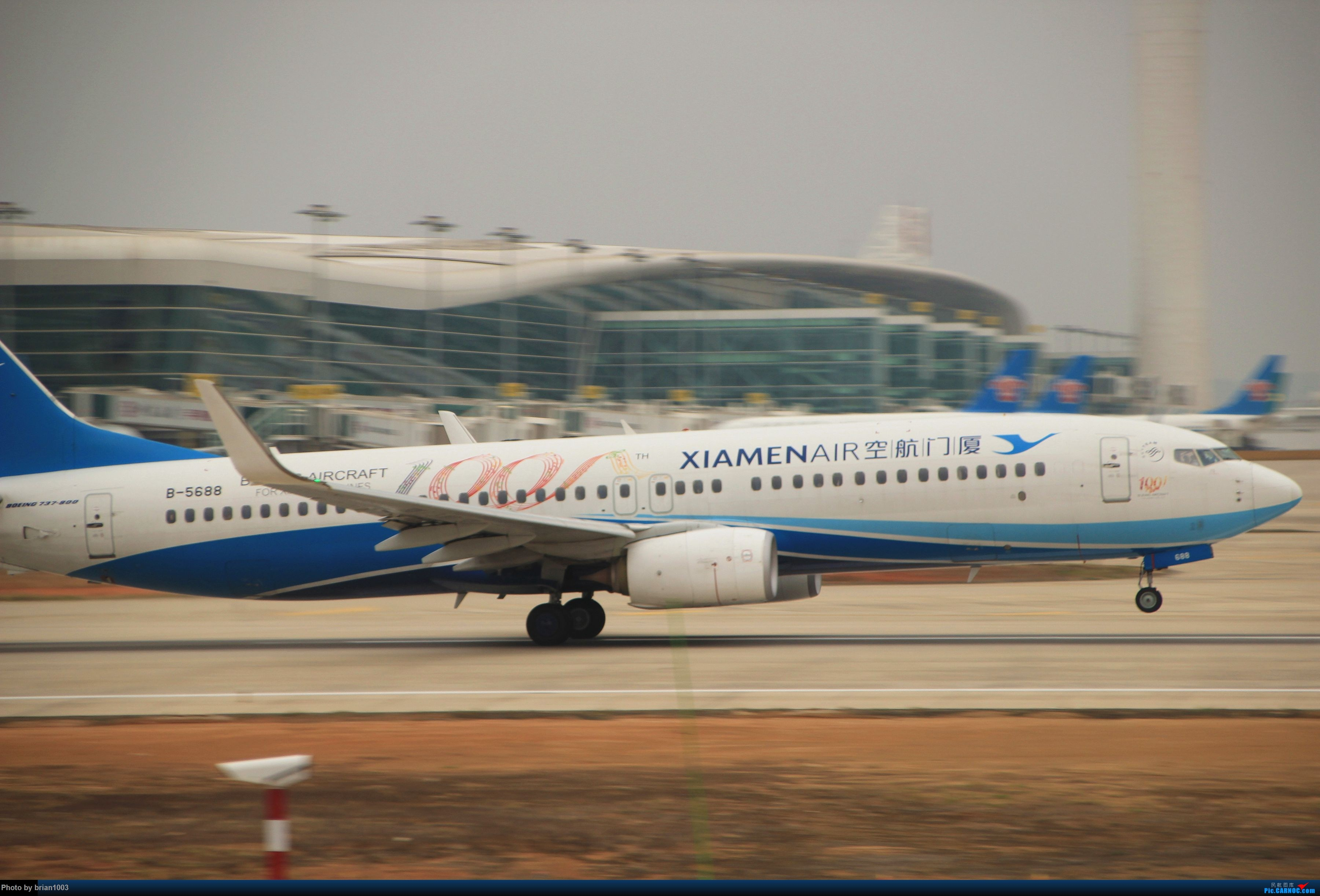 Re:[原创]WUH武汉天河机场拍机之新航季来的海航333和幸福的738 BOEING 737-800 B-5688 中国武汉天河国际机场