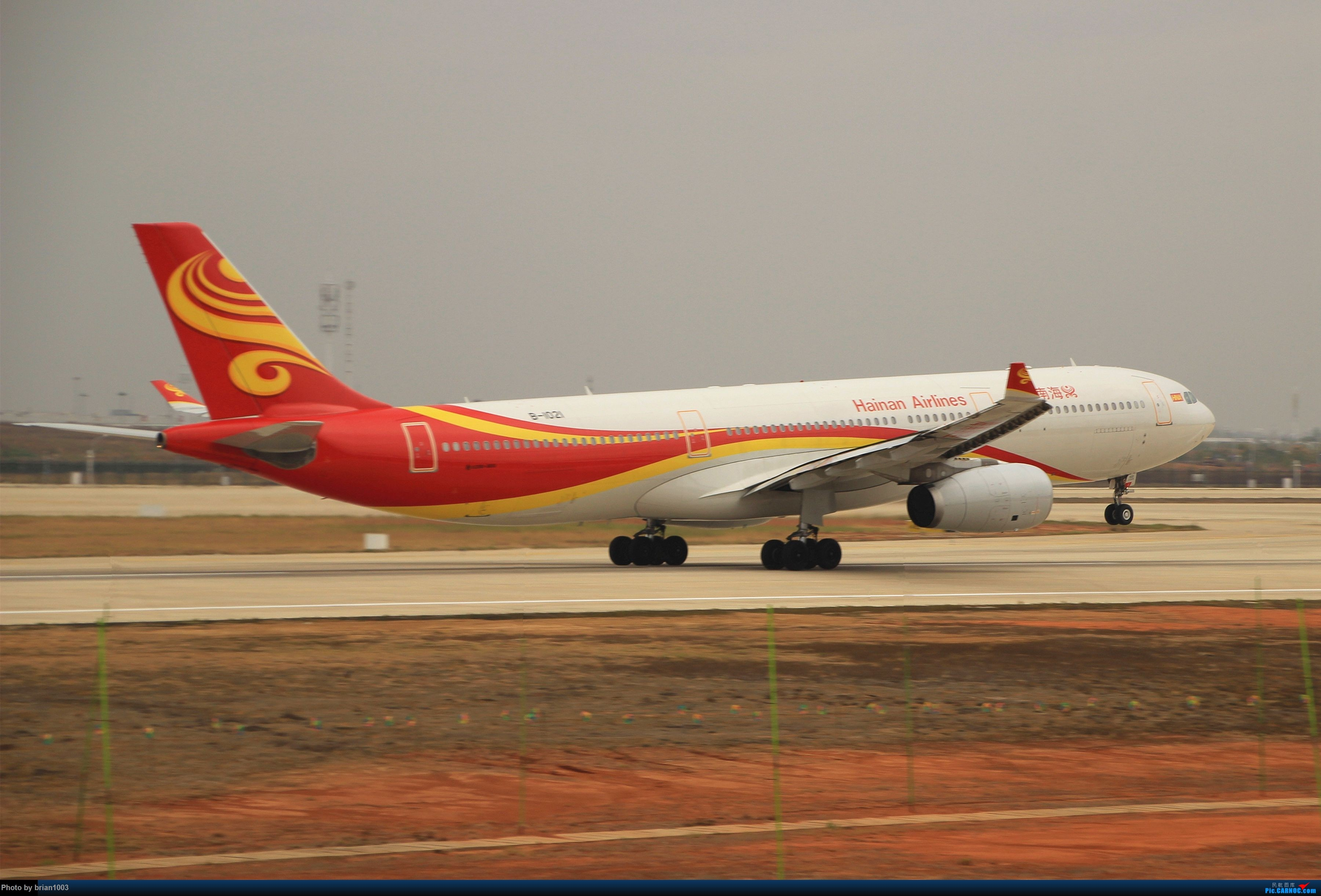 Re:[原创]WUH武汉天河机场拍机之新航季来的海航333和幸福的738 AIRBUS A330-300 B-1021 中国武汉天河国际机场
