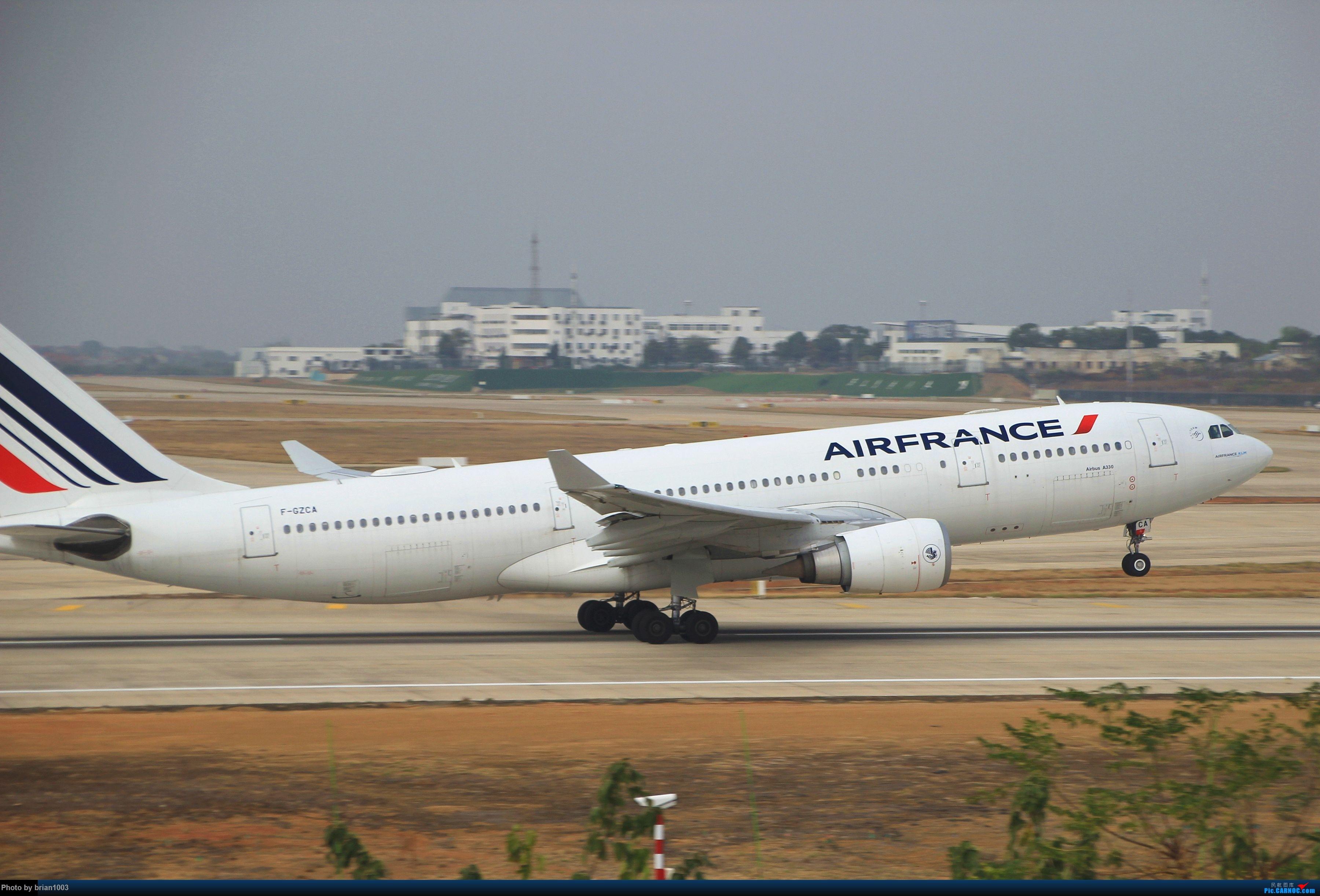 Re:[原创]WUH武汉天河机场拍机之新航季来的海航333和幸福的738 AIRBUS A330-200 F-GZCA 中国武汉天河国际机场