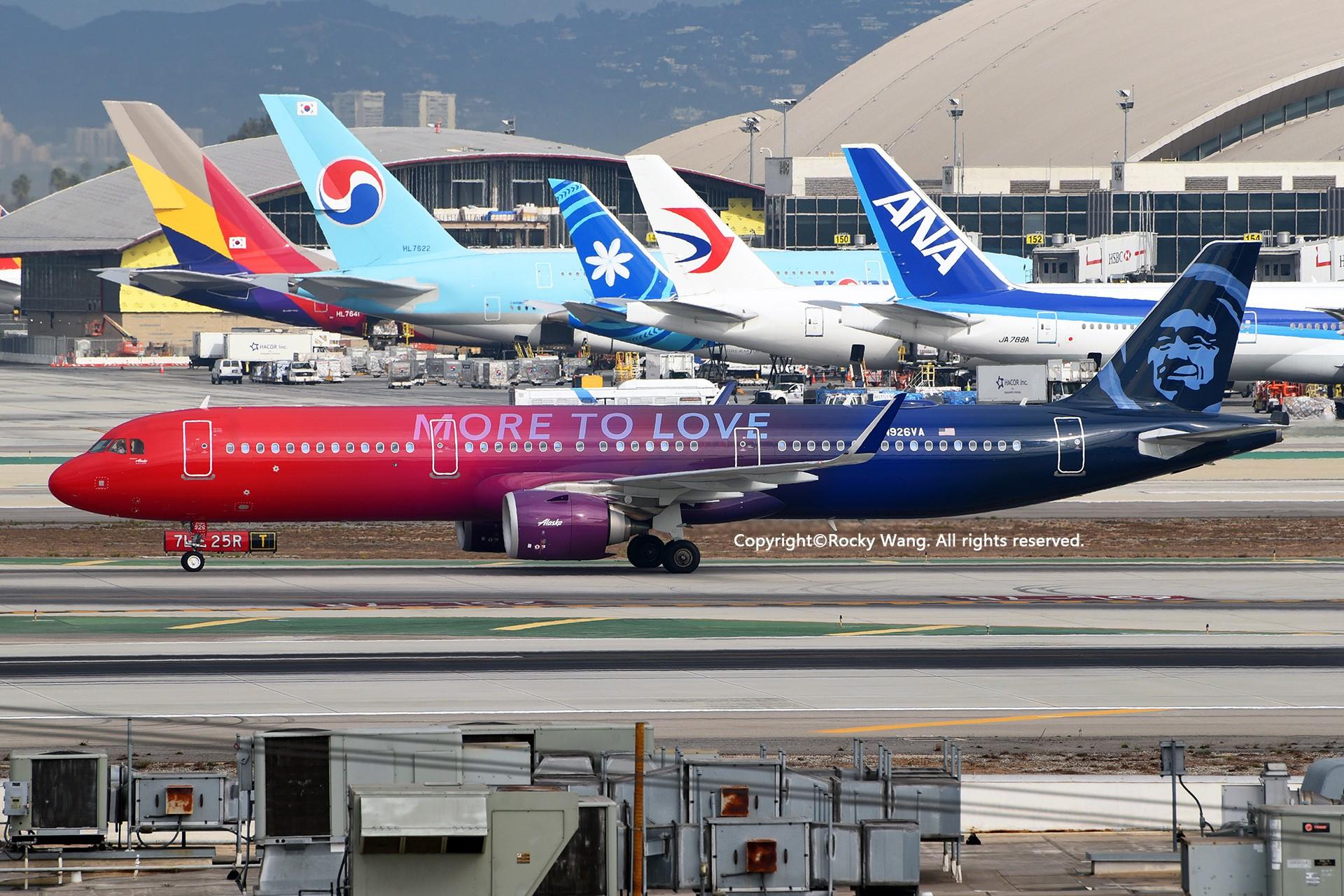 Re:[原创]彩绘圣地-附加彩蛋 AIRBUS A321-253N N926VA Los Angeles Int'l Airport