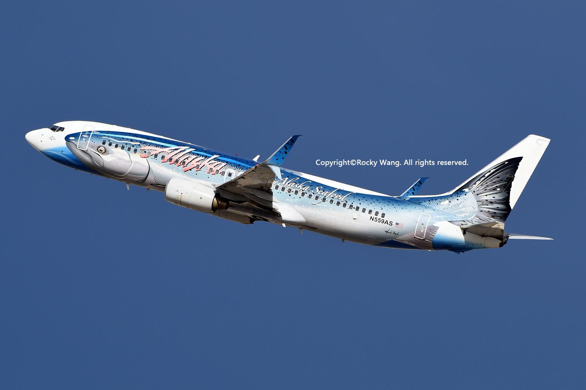 Re:[原创]彩绘圣地-附加彩蛋 BOEING 737-890 N559AS Los Angeles Int'l Airport