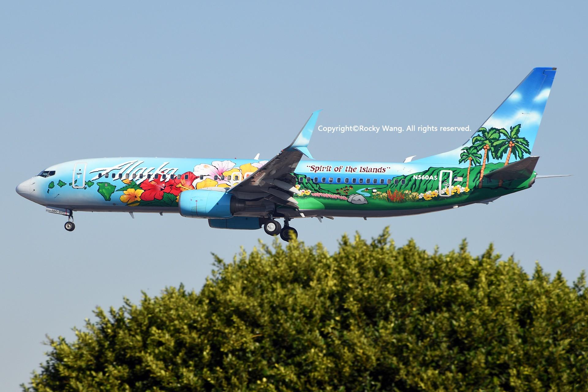 Re:[原创]彩绘圣地-附加彩蛋 BOEING 737-890 N560AS Los Angeles Int'l Airport