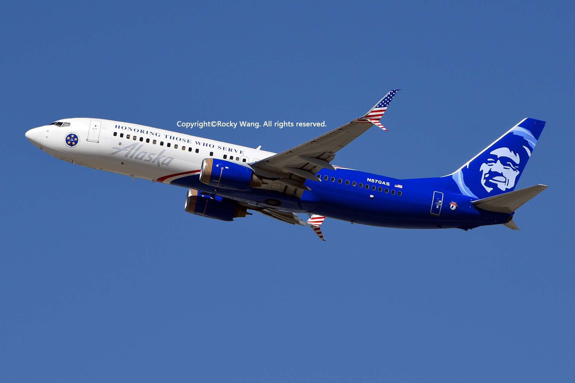 Re:[原创]彩绘圣地-附加彩蛋 BOEING 737-890 N570AS Los Angeles Int'l Airport