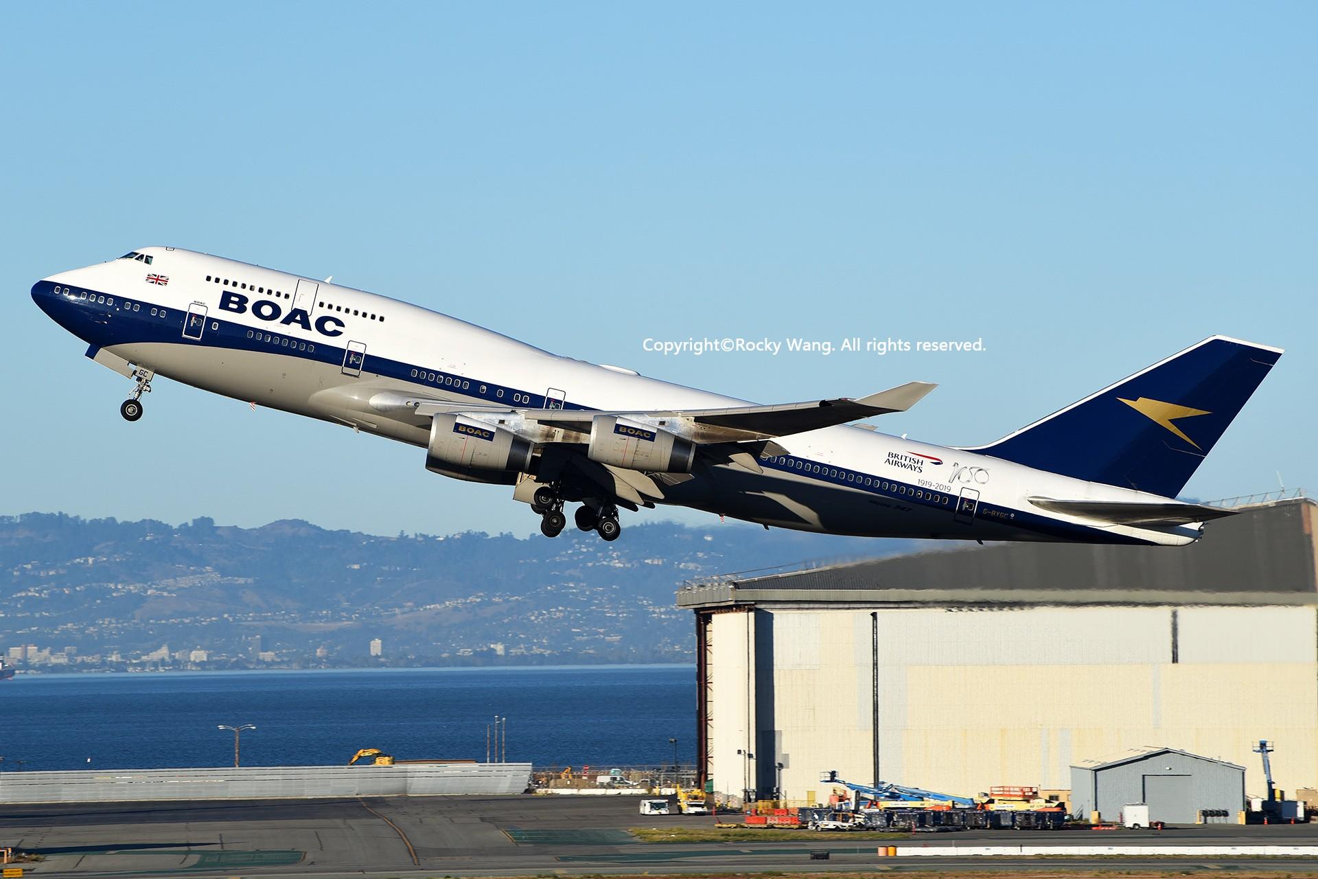 Re:[原创]彩绘圣地-附加彩蛋 BOEING 747-436 G-BYGC San Francisco Int'l Airport