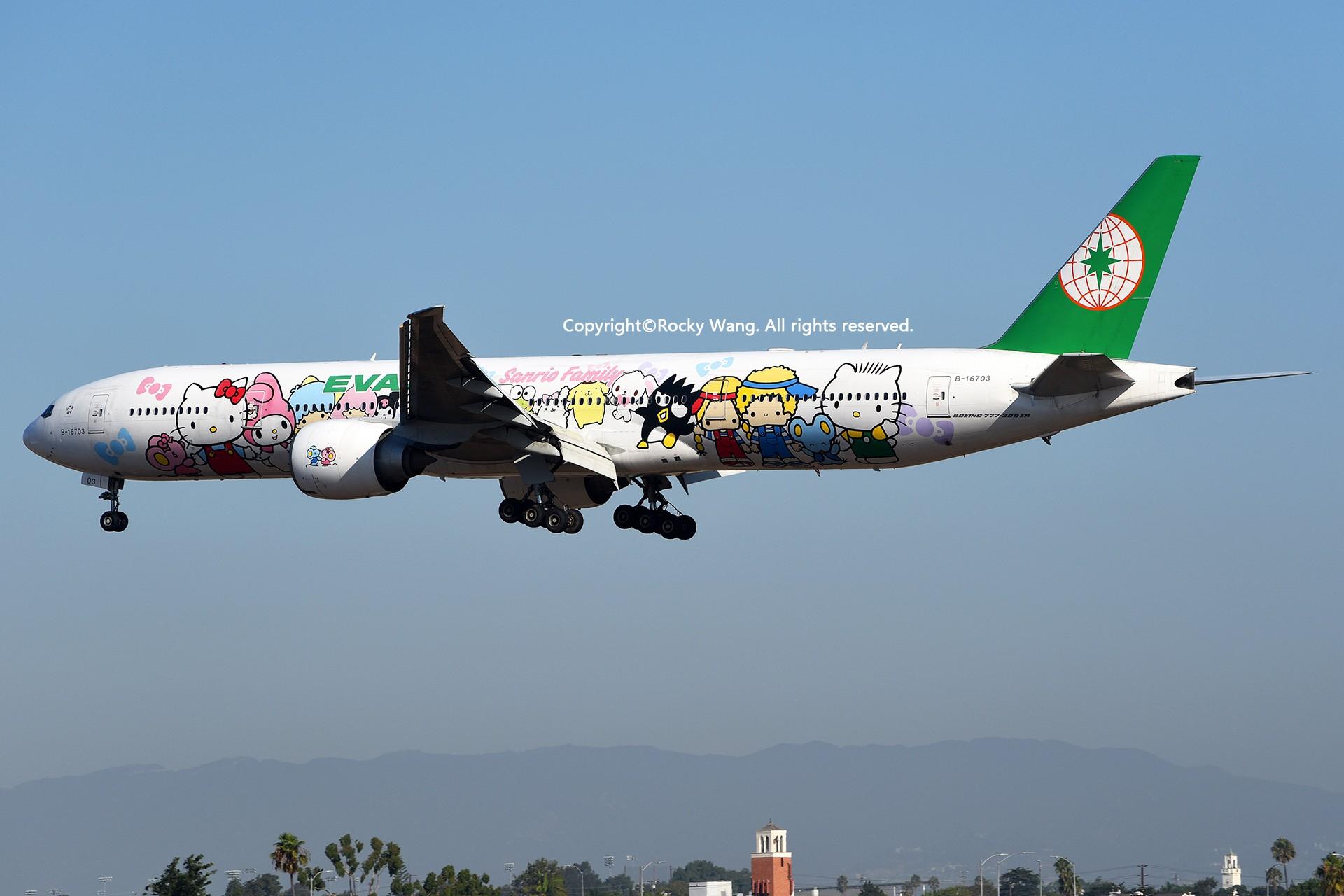 Re:[原创]彩绘圣地-附加彩蛋 BOEING 777-35EER B-16703 Los Angeles Int'l Airport