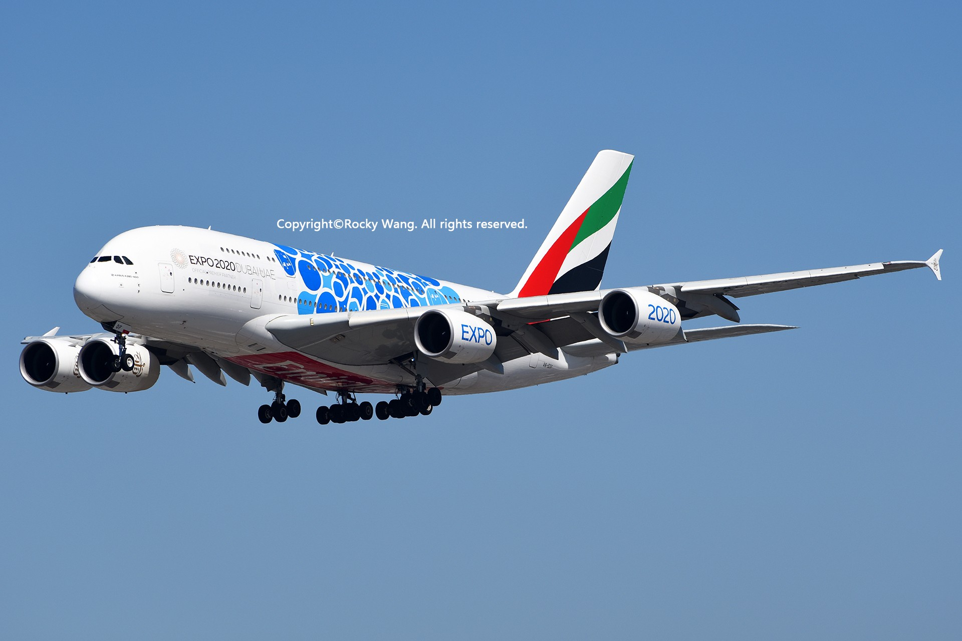 Re:[原创]彩绘圣地-附加彩蛋 AIRBUS A380-861 A6-EOF Los Angeles Int'l Airport